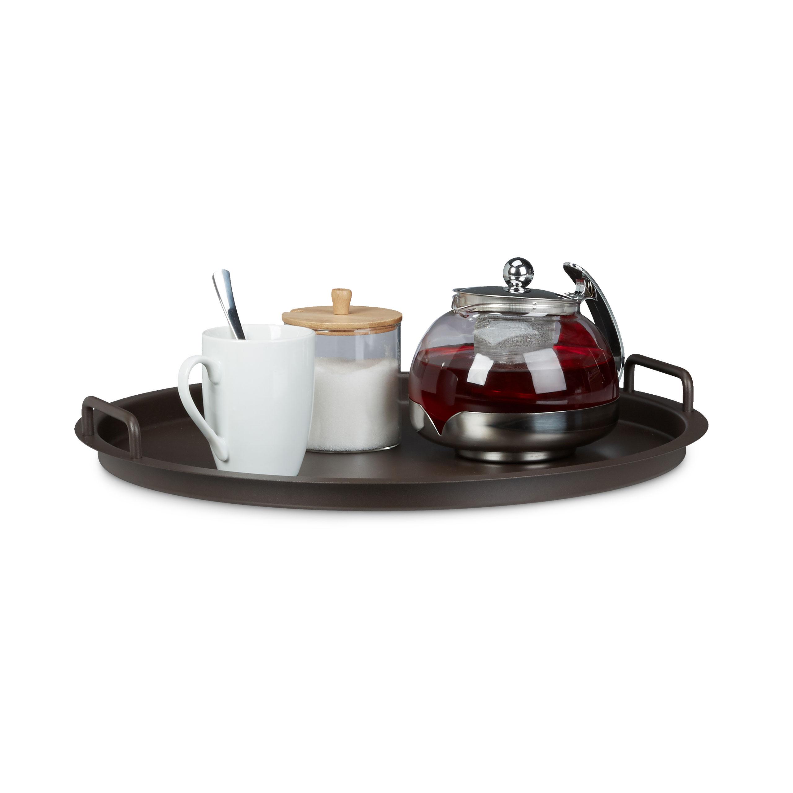 TAVOLINO in metallo con vassoio tablettisch tavolo pieghevole tavolo tavolo da balcone