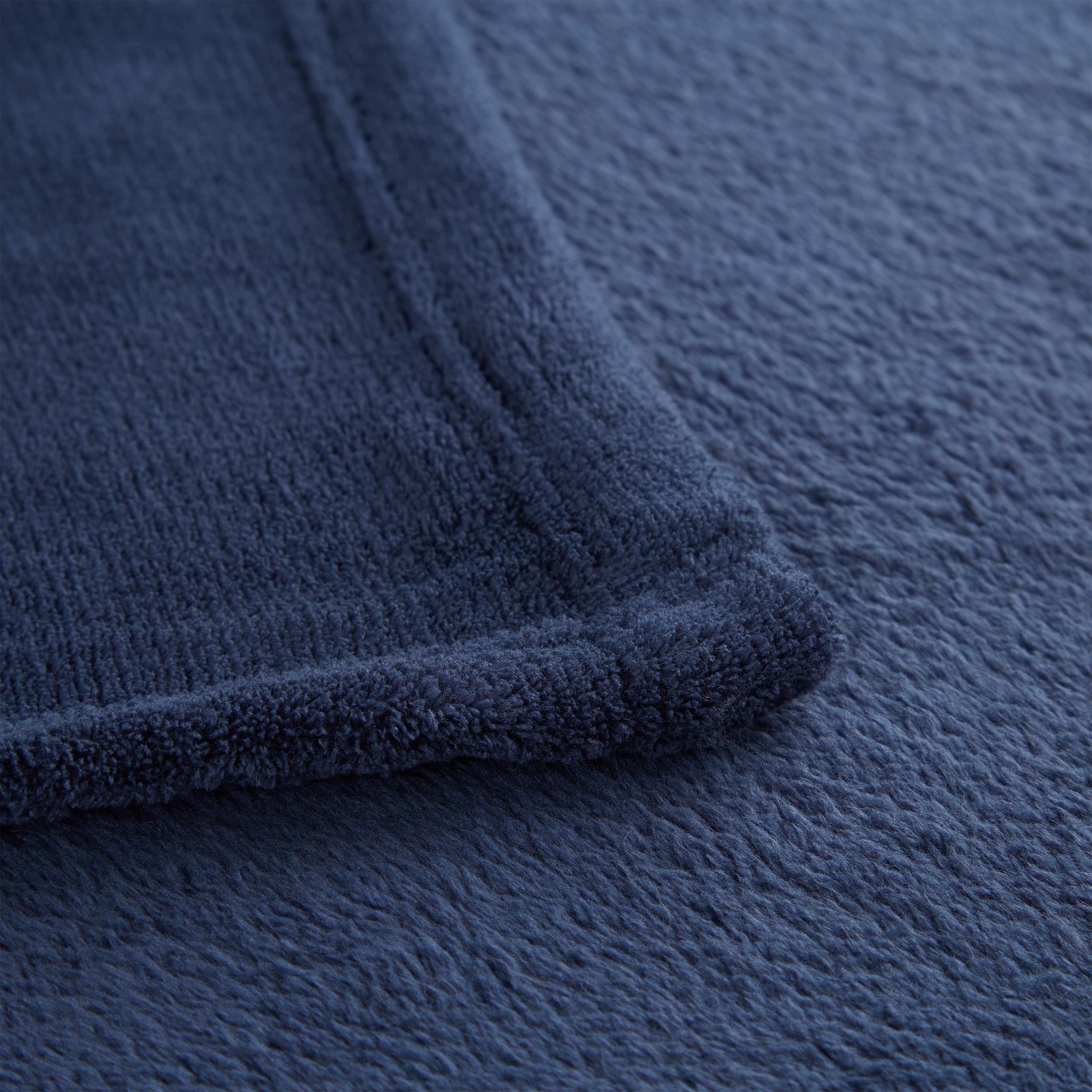 Kuscheldecke extragroß aus Polyester in verschiedenen Farben Fleece einfarbig