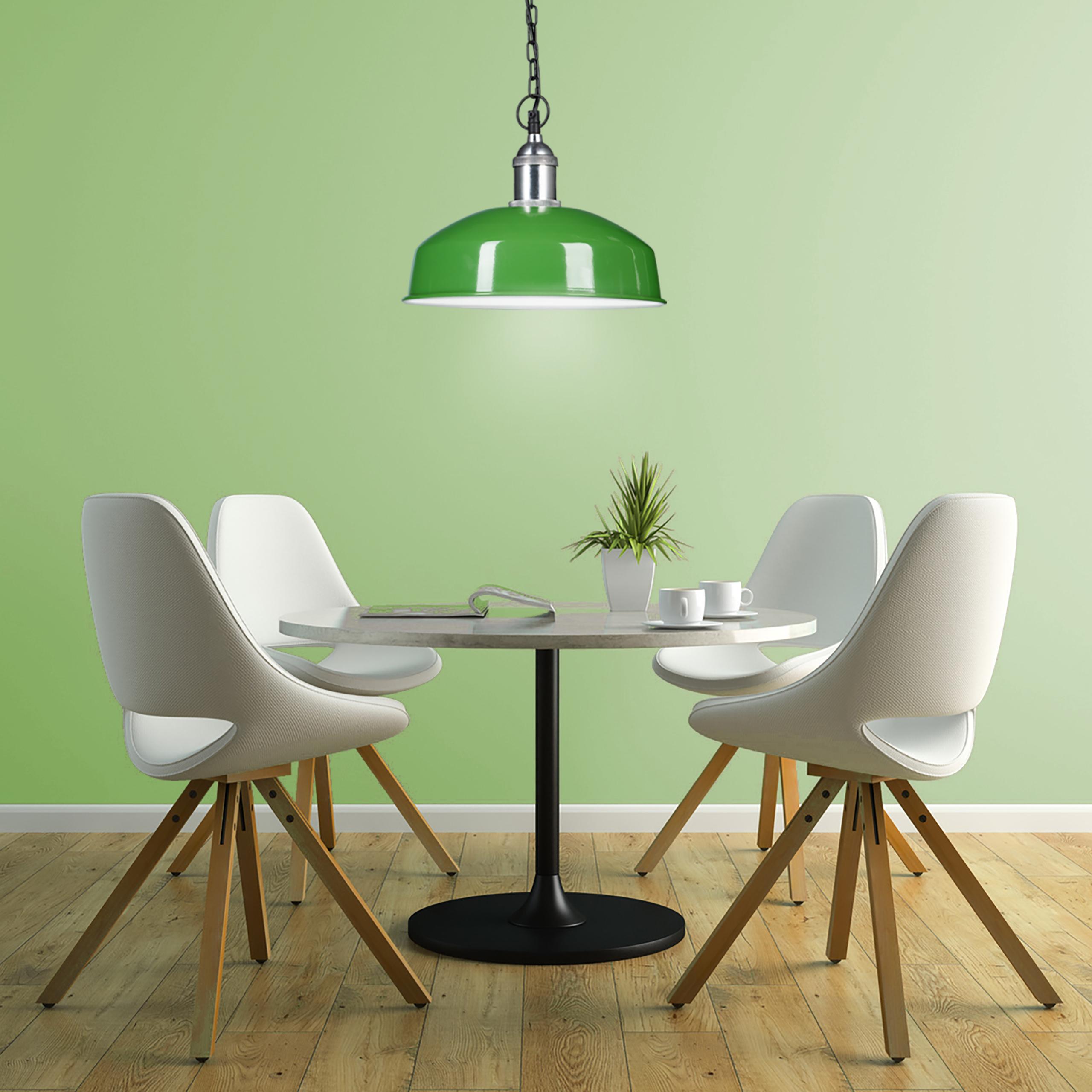 Deckenlampe mit Kette Hängeleuchte modern in Farbvarianten Pendelleuchte Eisen