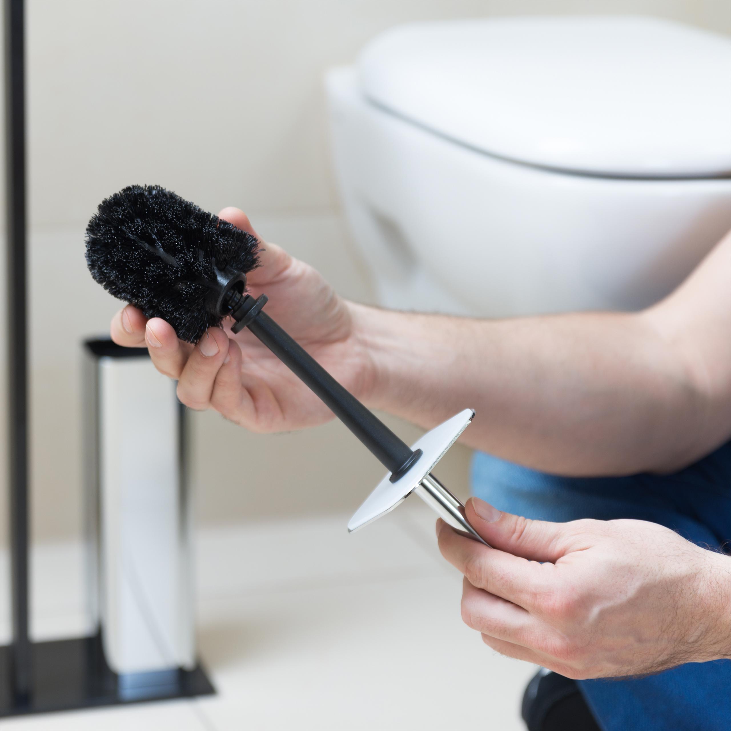WC bürstenkopf Remplacement Brosses pour vis 5er Set de toilettes Brosses filetage 12 mm