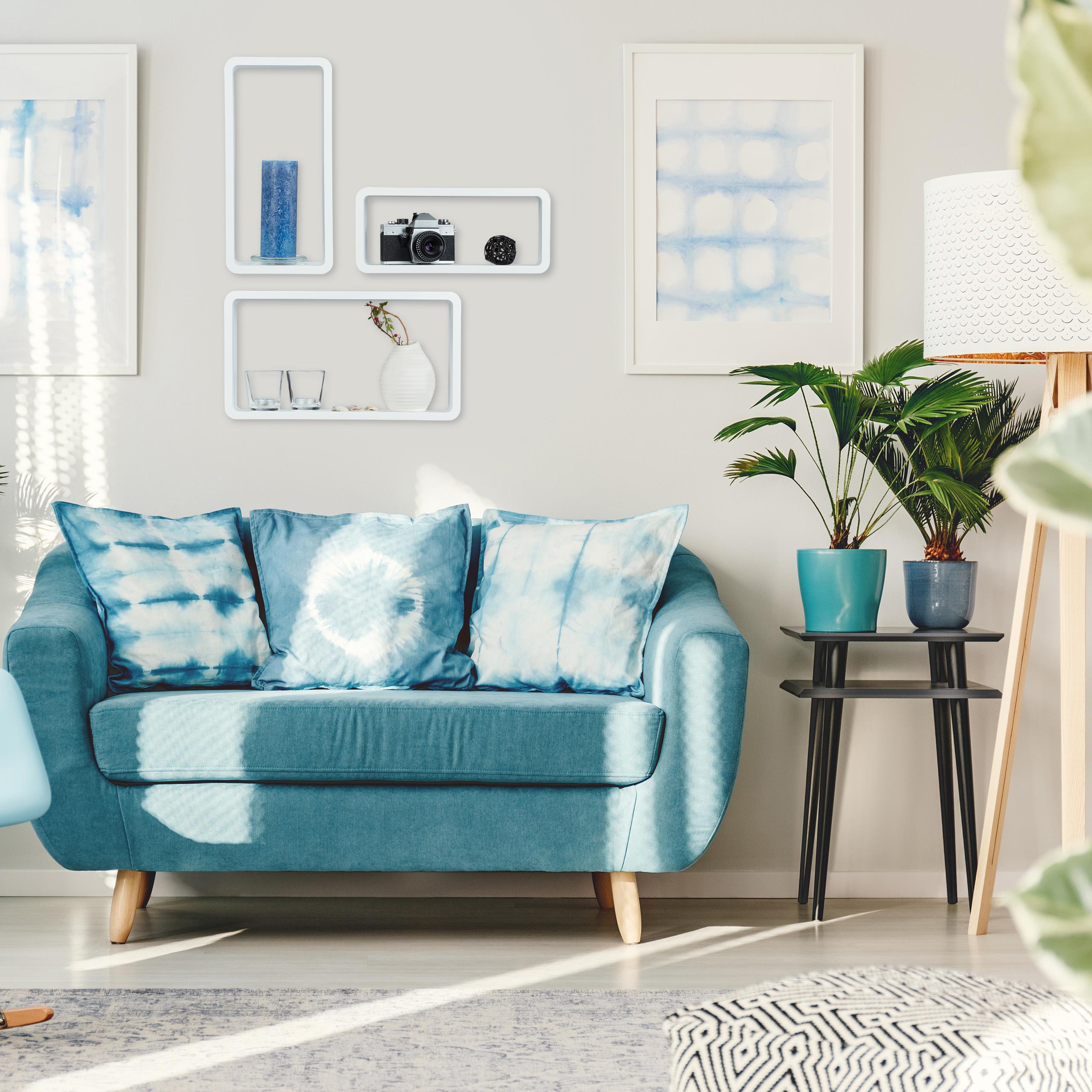 Home Decor Items Schweberegal Set 3 Teilig Dekoregal Mehrfarbig Wandcube Wandregal Befestigung Home Furniture Diy Lugecook Com Br
