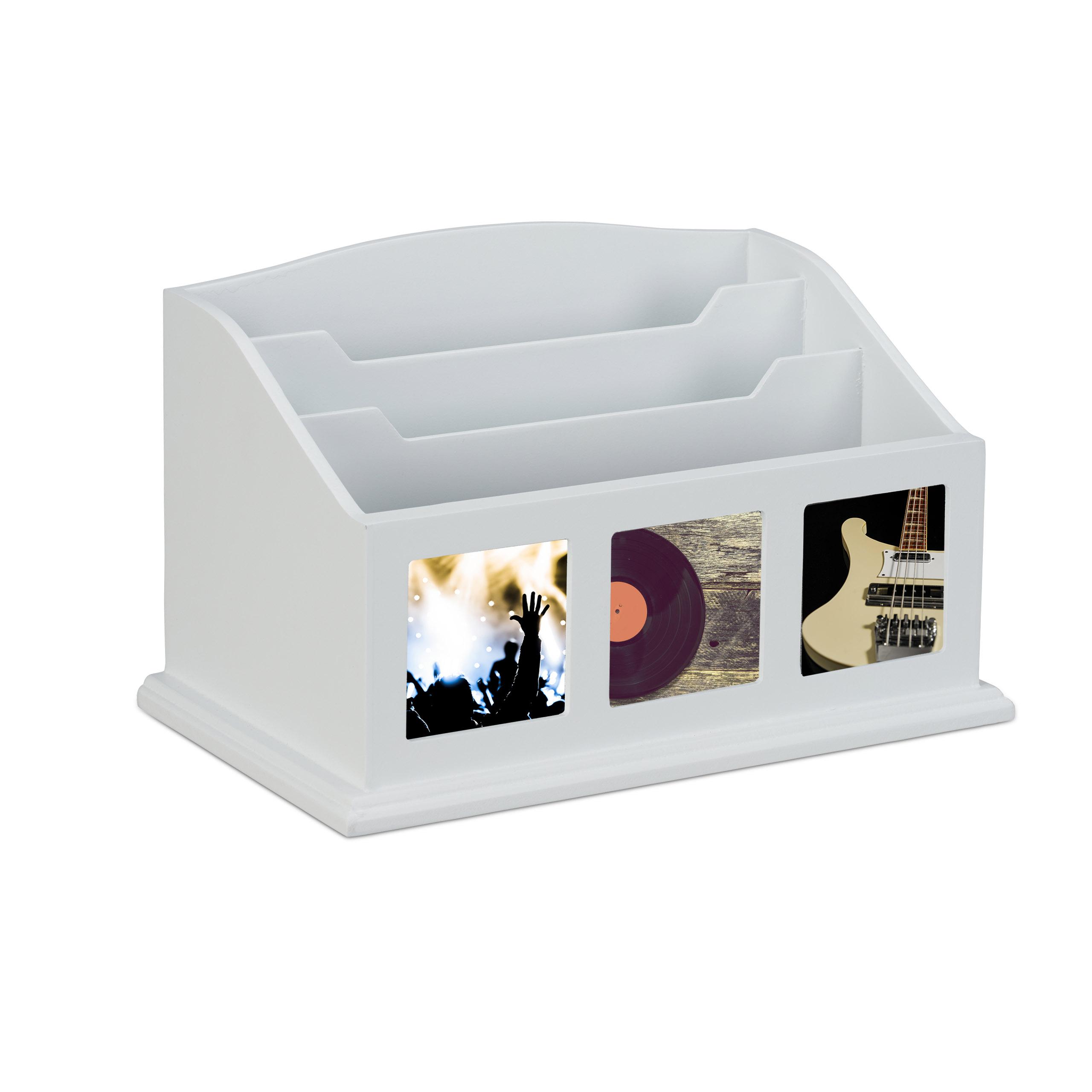 Ablagefächer mit Bilderrahmen Briefhalter Dokumentenablage Design Aktenablage