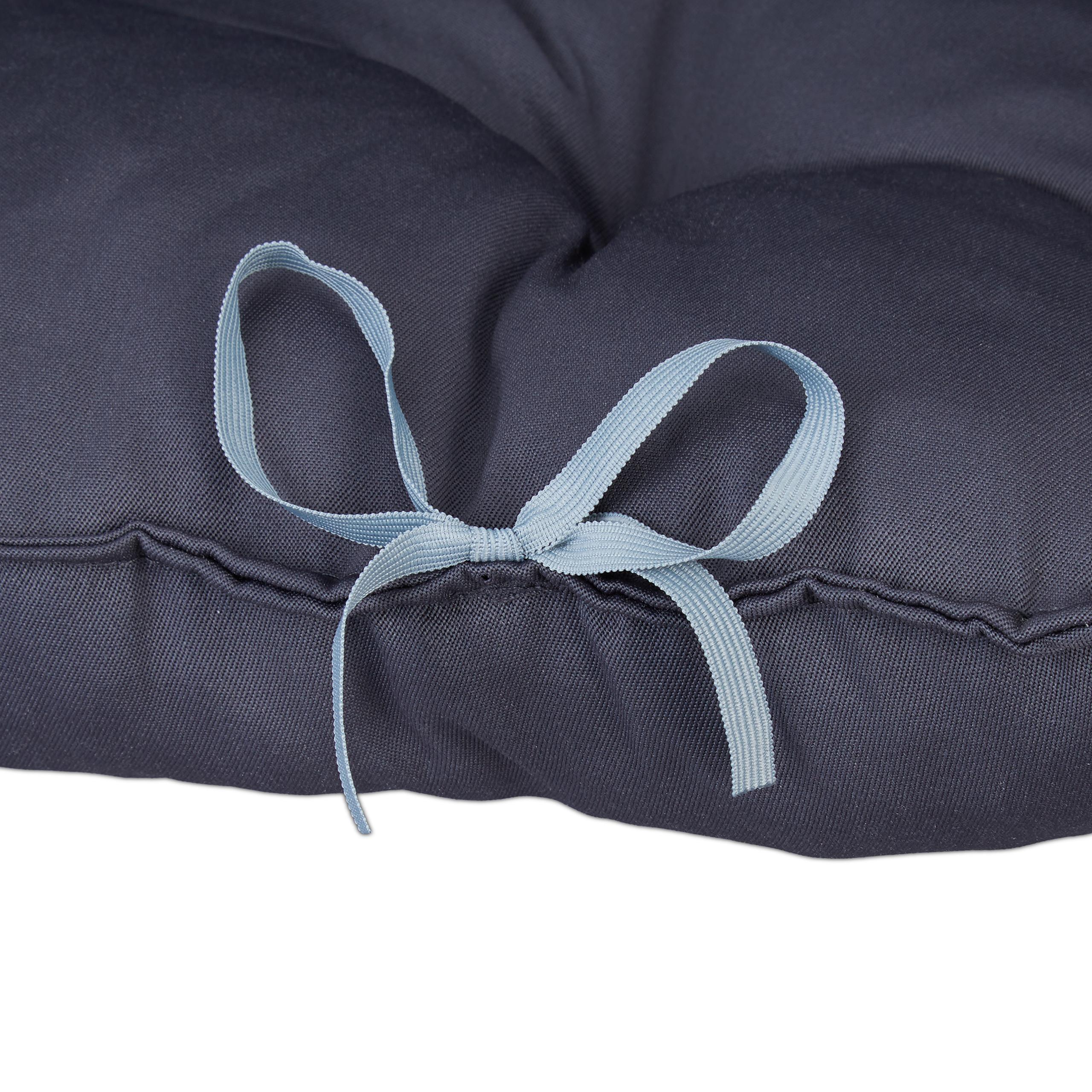 Cuscino con cinghie Sedia da giardino Cuscino 2er Set cuscino trapuntato Edizione