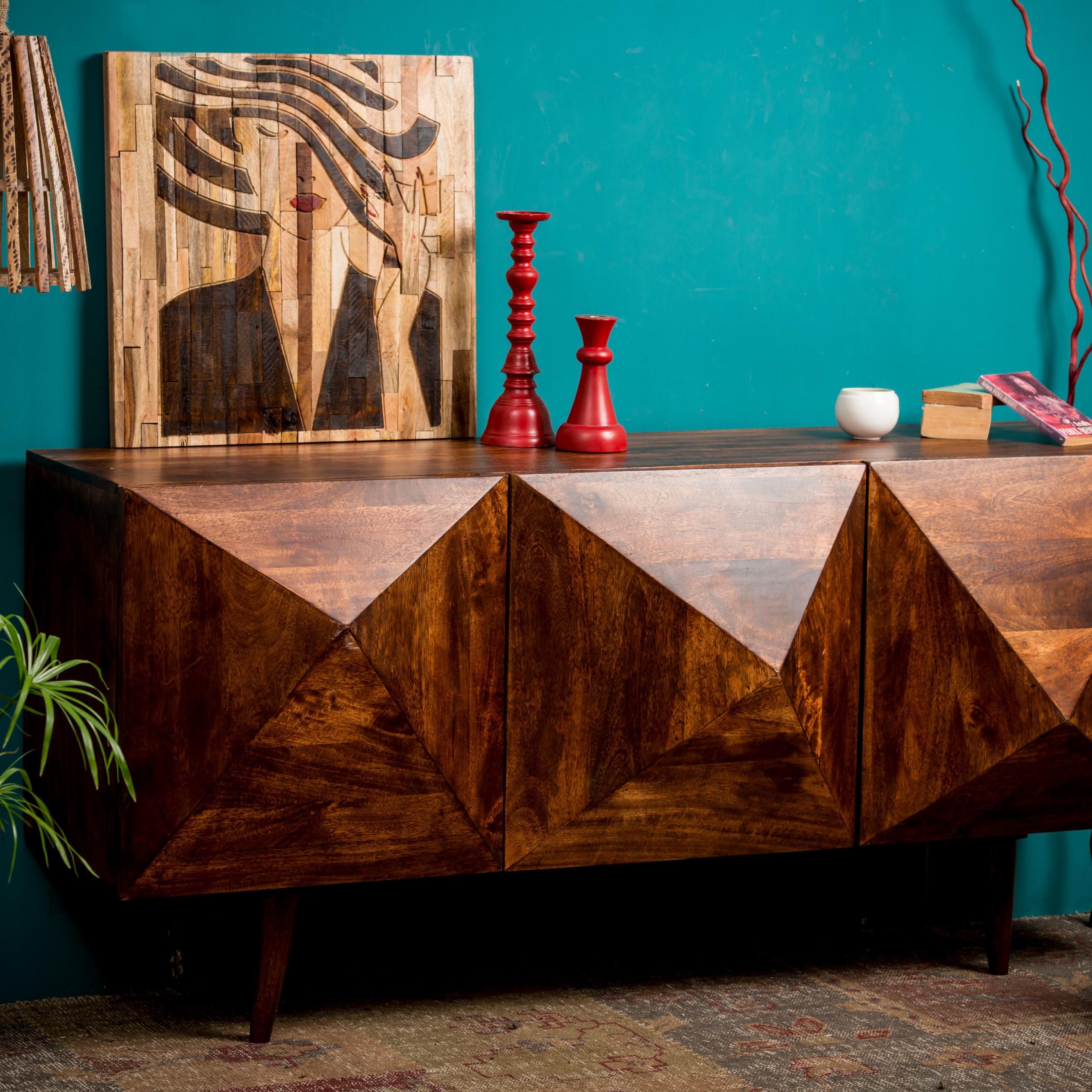 Sideboard 3d anrichte küche wohnzimmerschrank modern 180 cm