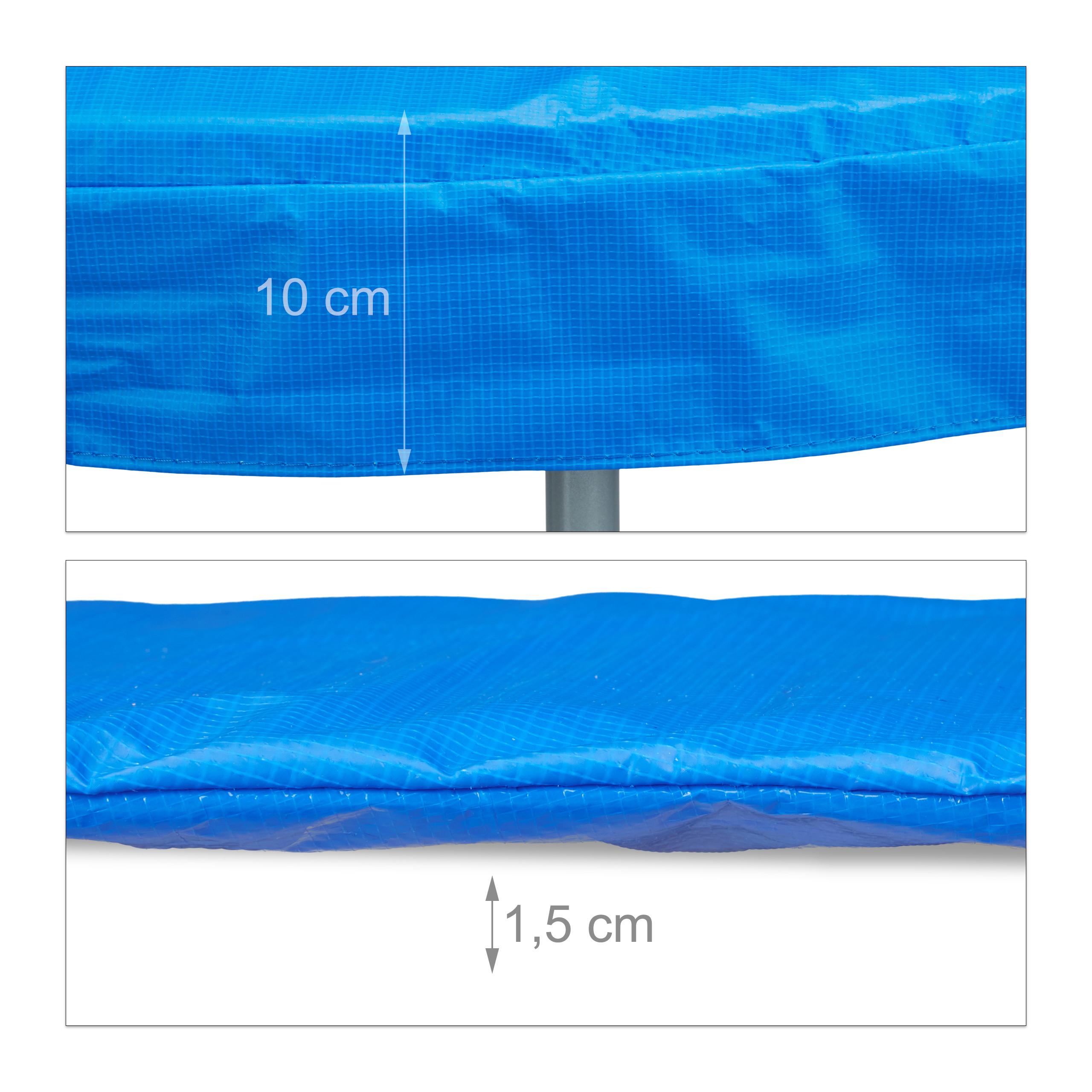 Trampolin Randabdeckung Trampolin Zubehör Federabdeckung 244 305 366 427 cm PVC