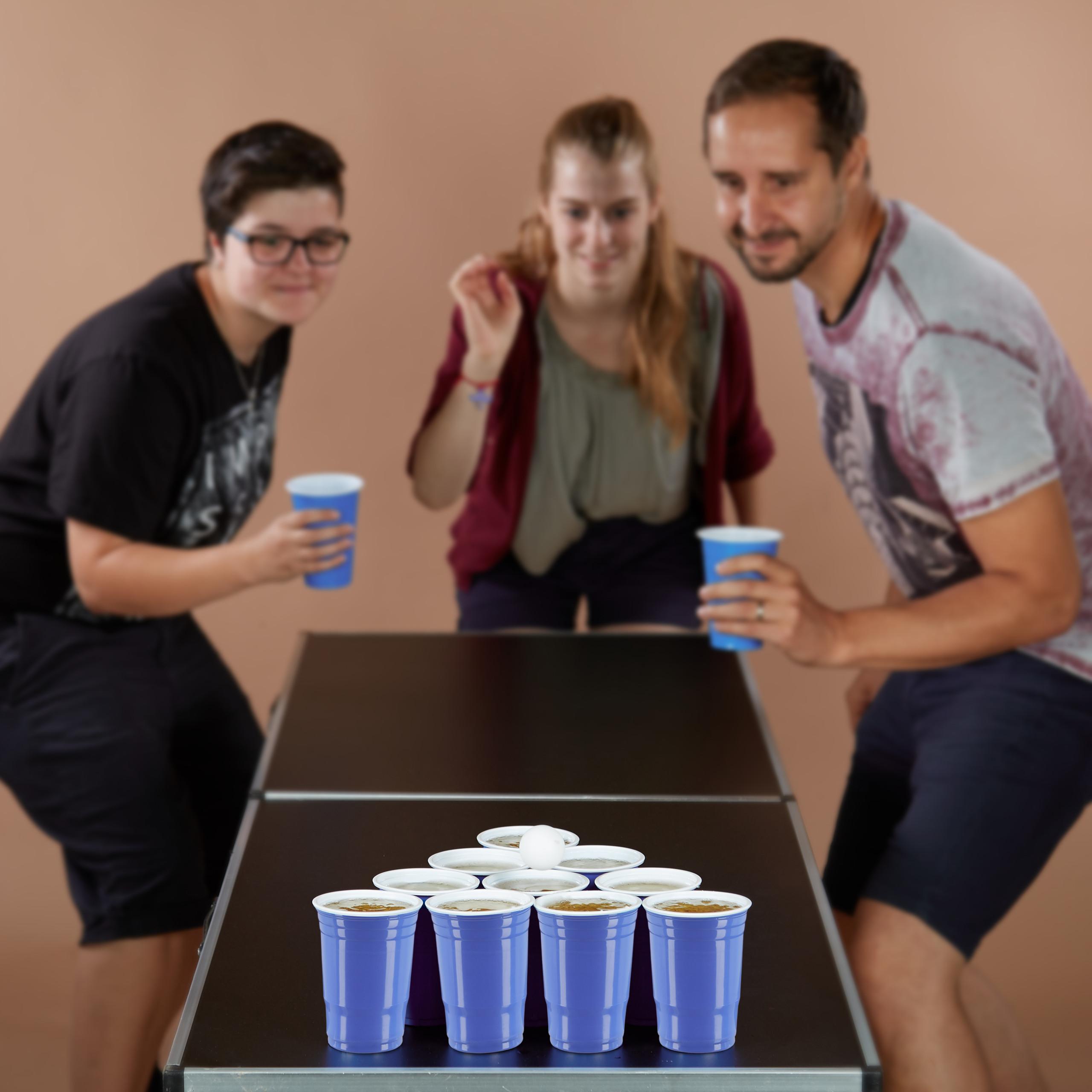 Beer Pong Getränkebecher Partybecher Plastikbecher Becher Einwegbecher 50er Pack