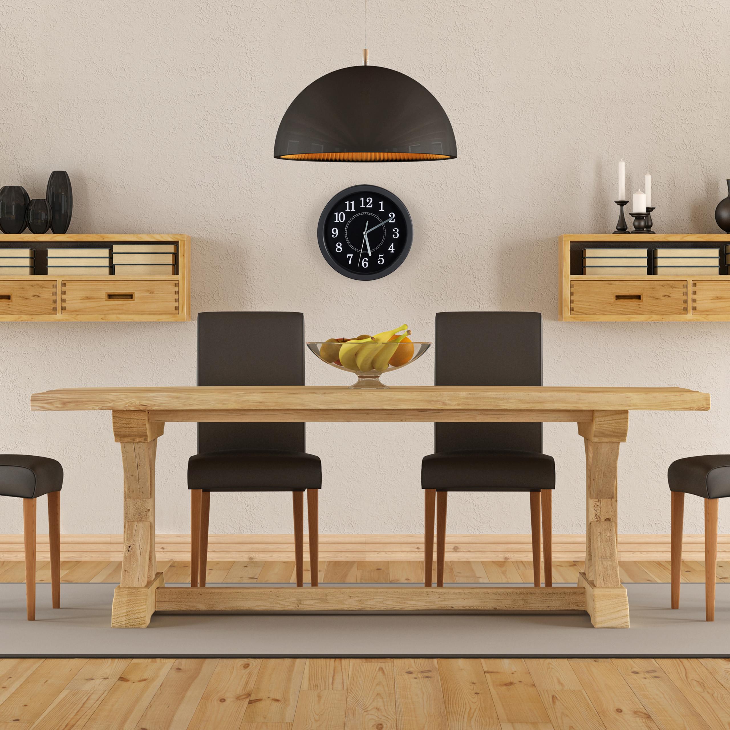 Kleine Wanduhr Classic Küchenuhr Wohnzimmeruhr Uhr Wand 20cm Weiß//Schwarz