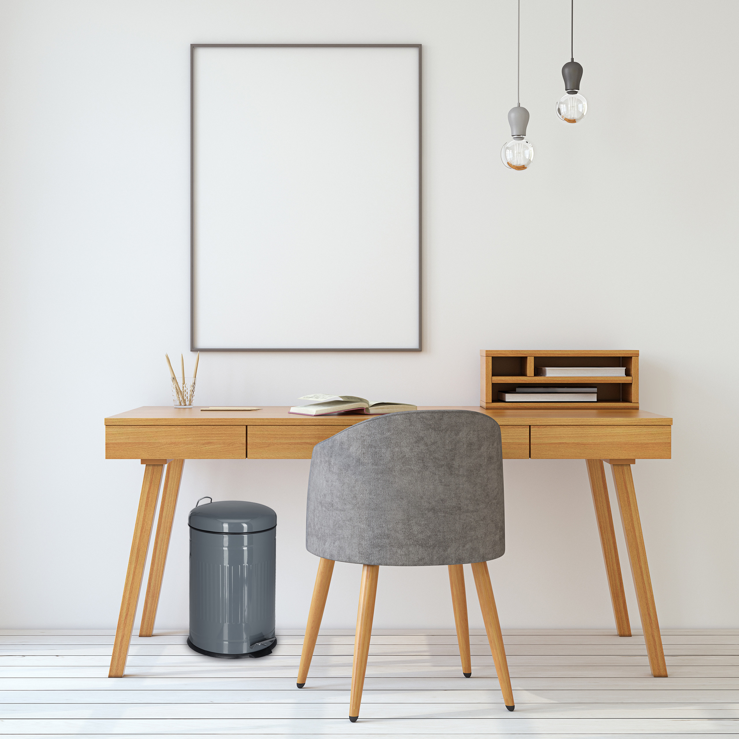Treteimer 20l Trittmülleimer Mülleimer Küche Tretmülleimer Edelstahl Inneneimer