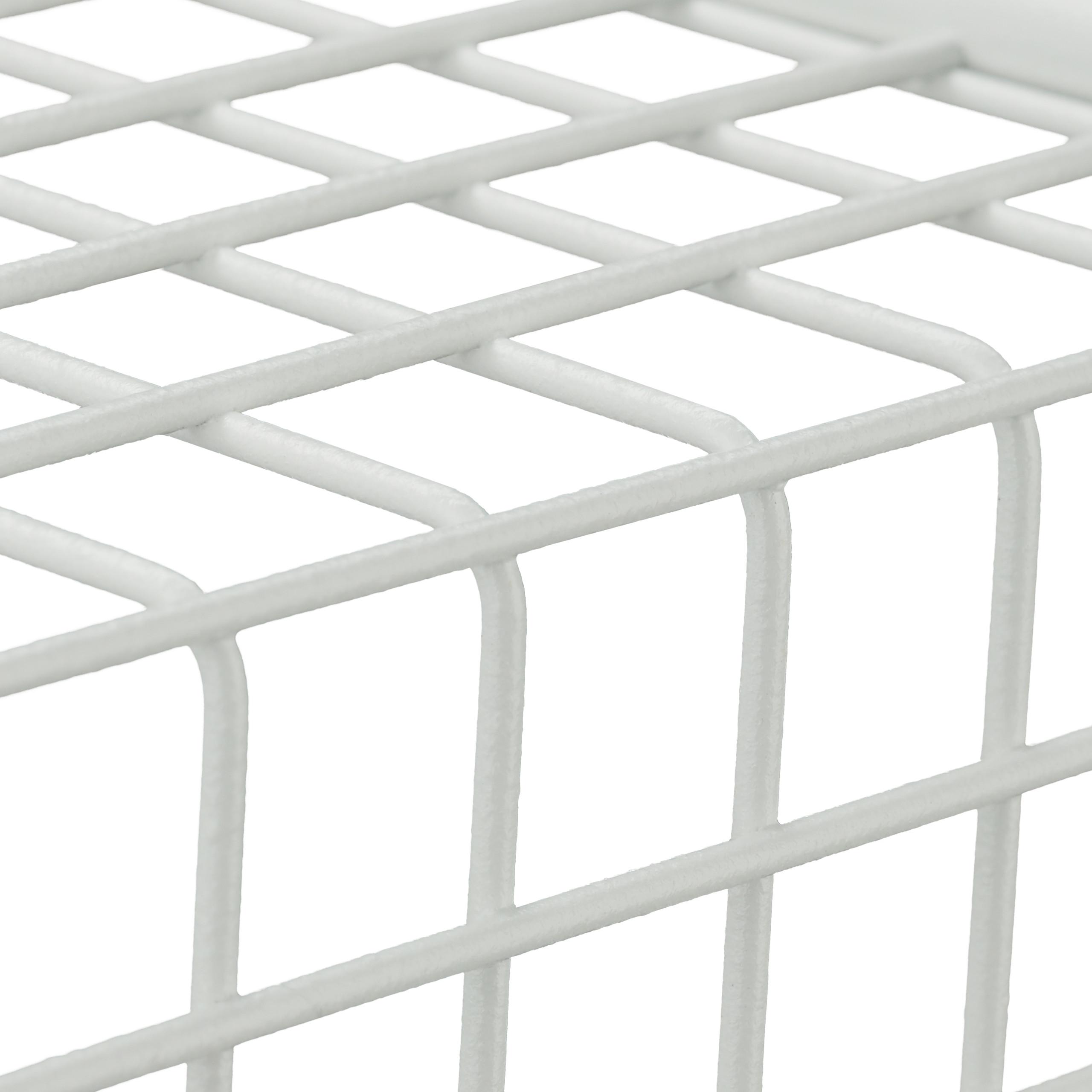 Wandregal 3er Set Draht Schweberegal Wandboard Cube Regal Gitter Hängeregal