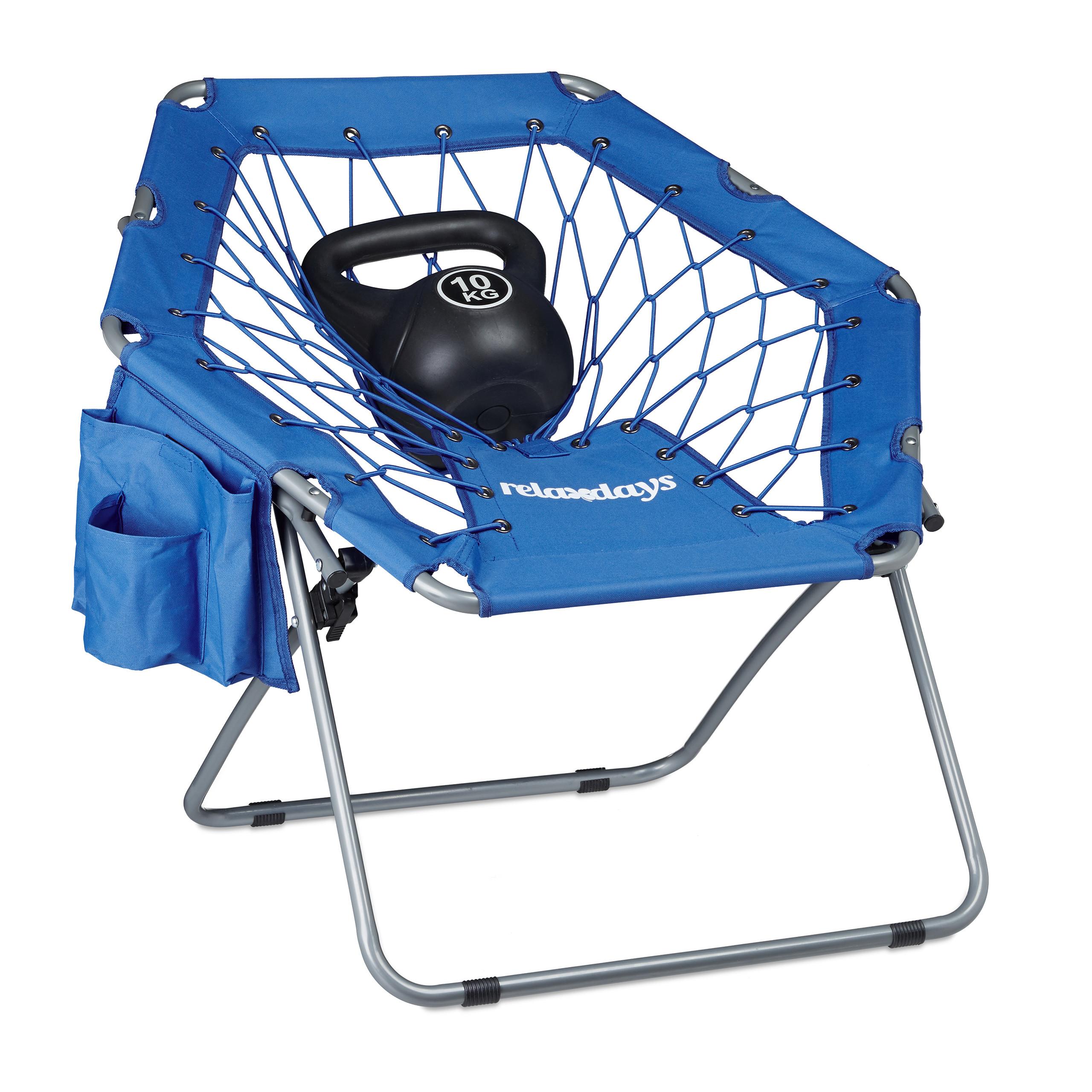 elastische Federung Bungee Chair faltbar Festival Sessel Bungee Stuhl WEBSTER