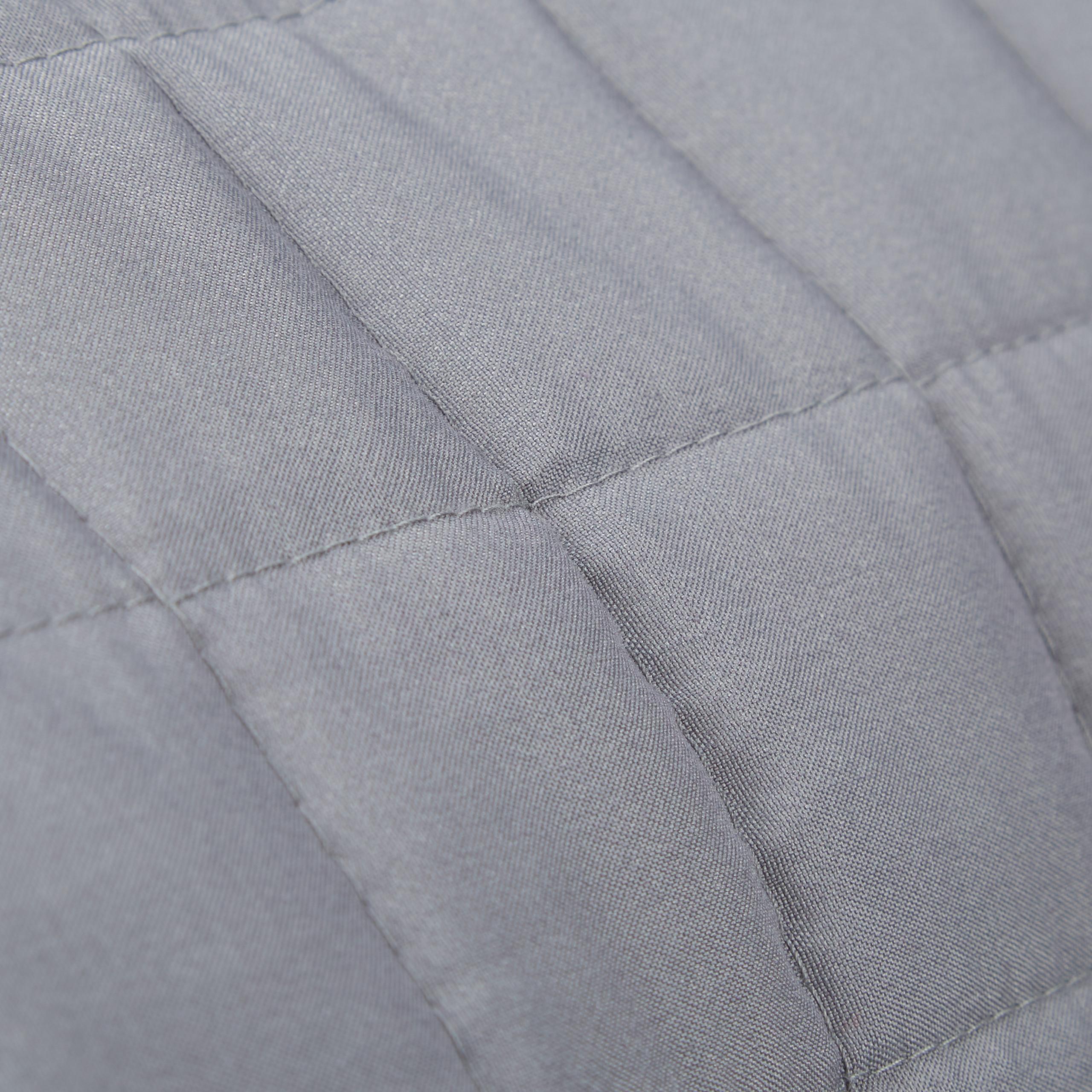 Tagesdecke grau Kuscheldecke Polyester Couchdecke Schlafdecke Überwurf gesteppt