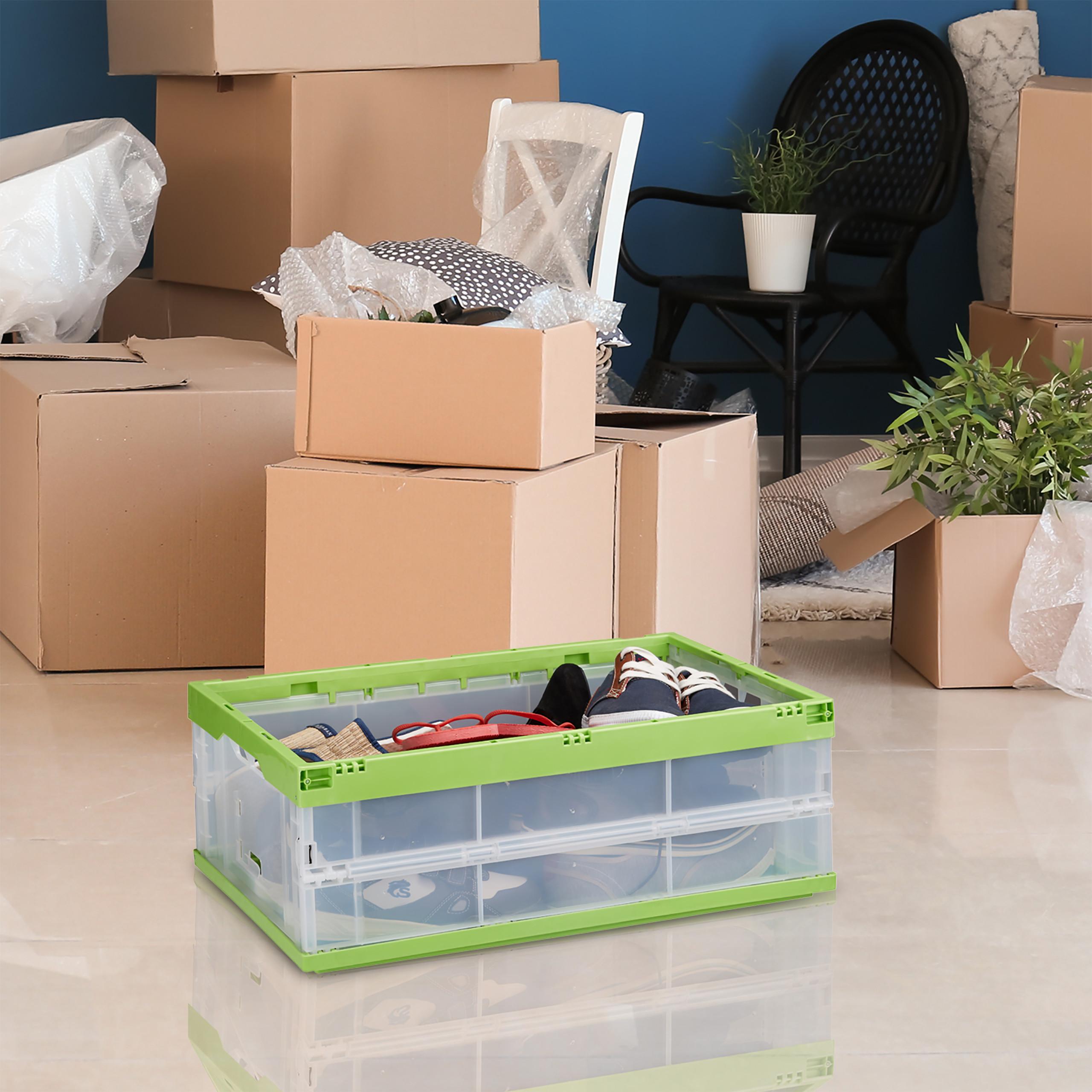 Klappbox faltbar Transportbox Aufbewahrungskiste Faltbox Stapelbox Universalbox