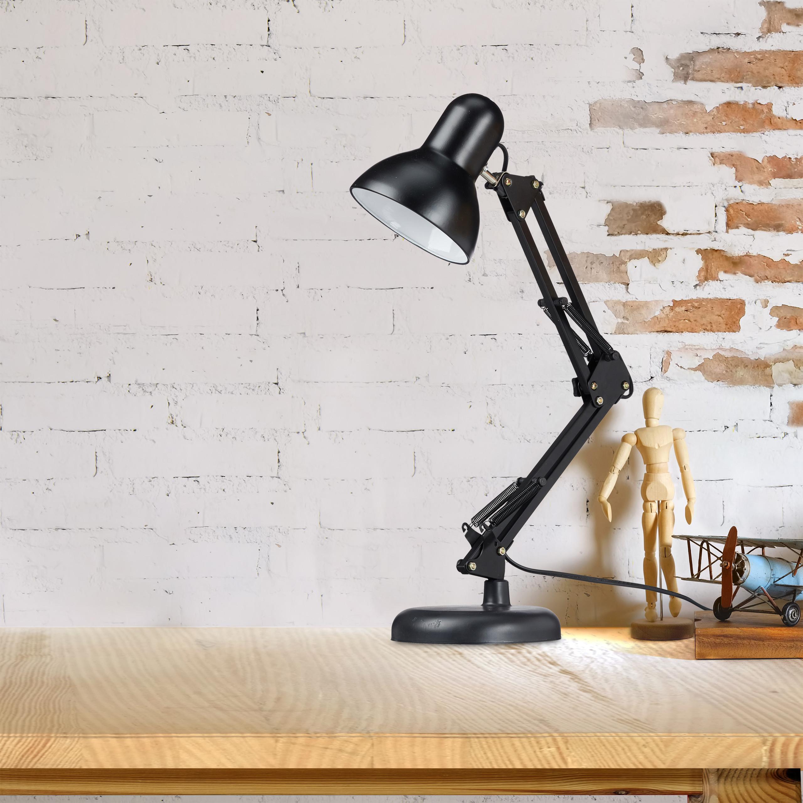 Retro Schreibtischlampe Gelenkarm Lampe Tischlampe Bürolampe Arbeitsplatzleuchte