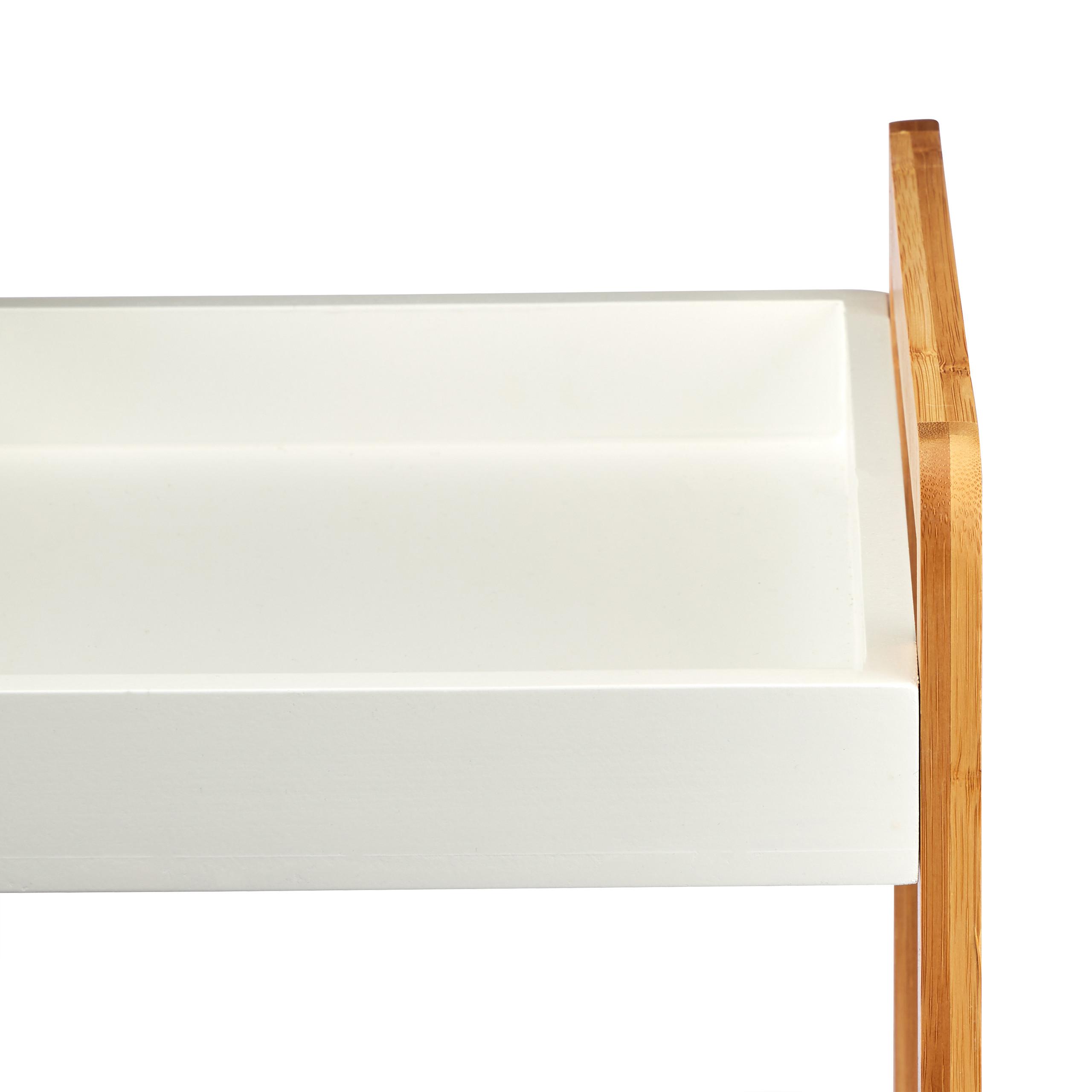 Badregal Bambus Standregal Küchenregal Badezimmerregal Bambusregal Ablagefächer