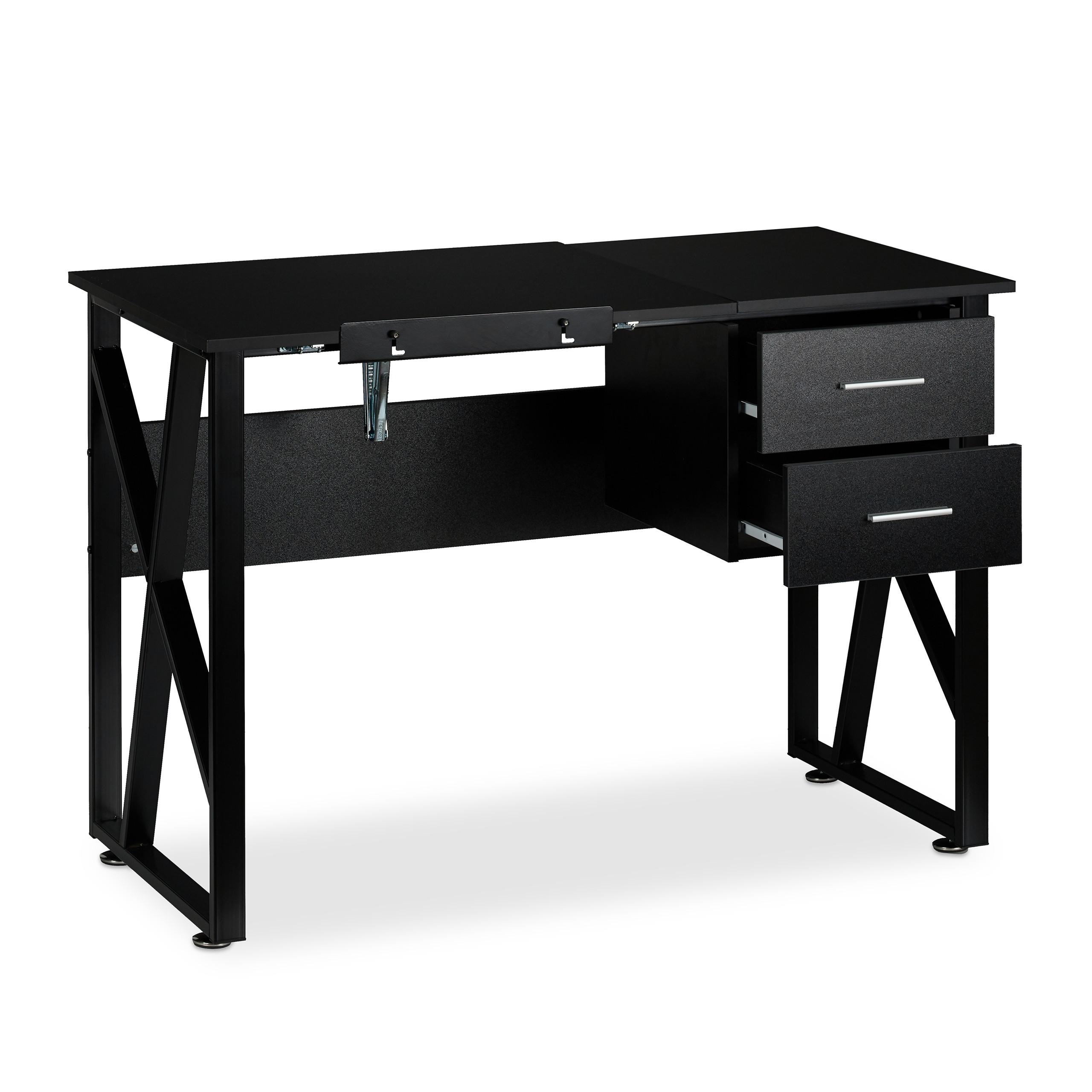 Schreibtisch neigbar Laptoptisch Zeichentisch verstellbar Maltisch Arbeitstisch