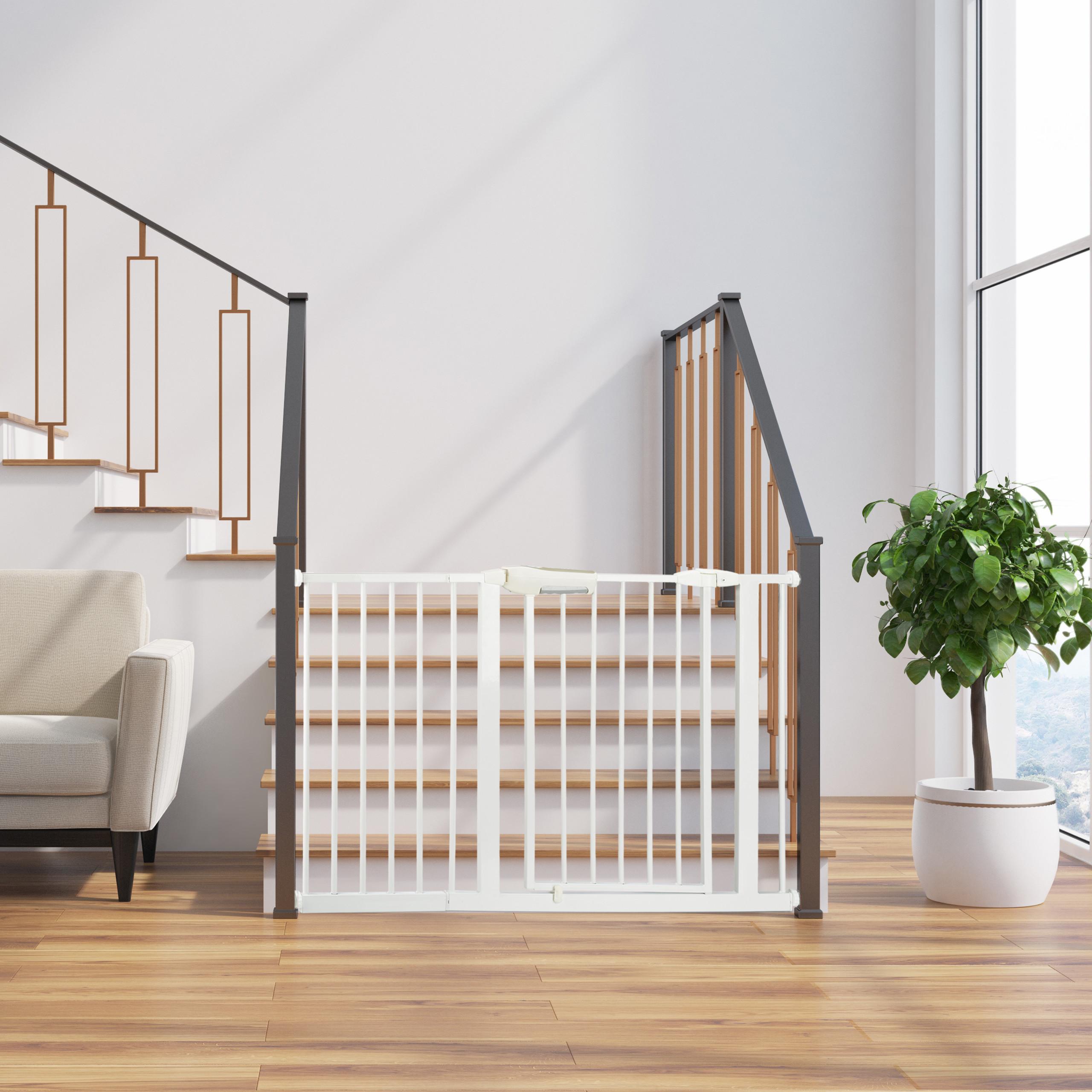 Schutzgitter Verlängerung Türgitter Gitter Erweiterung Klemmgitter Treppenschutz