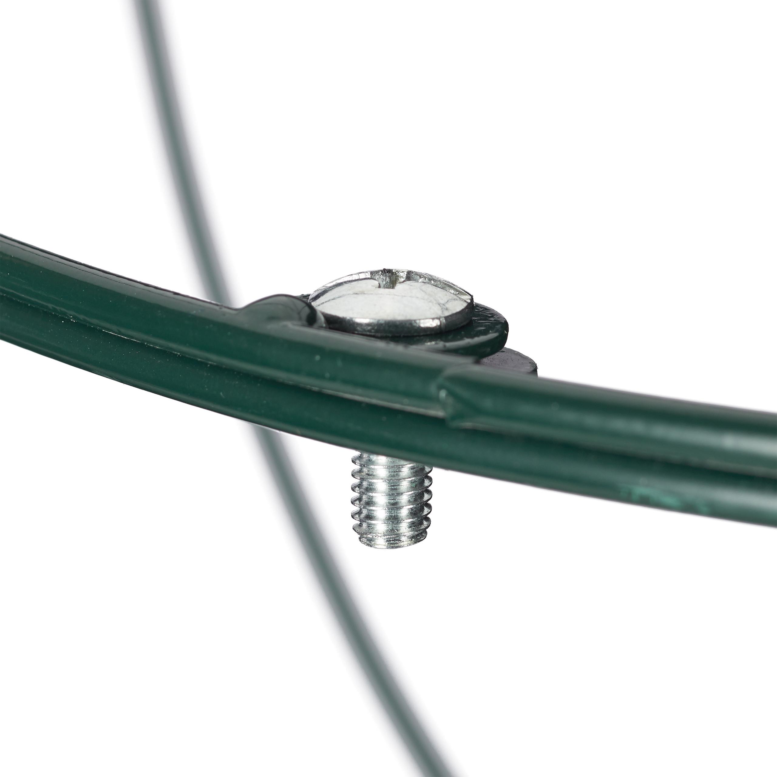 Rankhilfe Rankkugel Rankobelisk Rosengitter Metall Pflanzengitter 2er Set rund