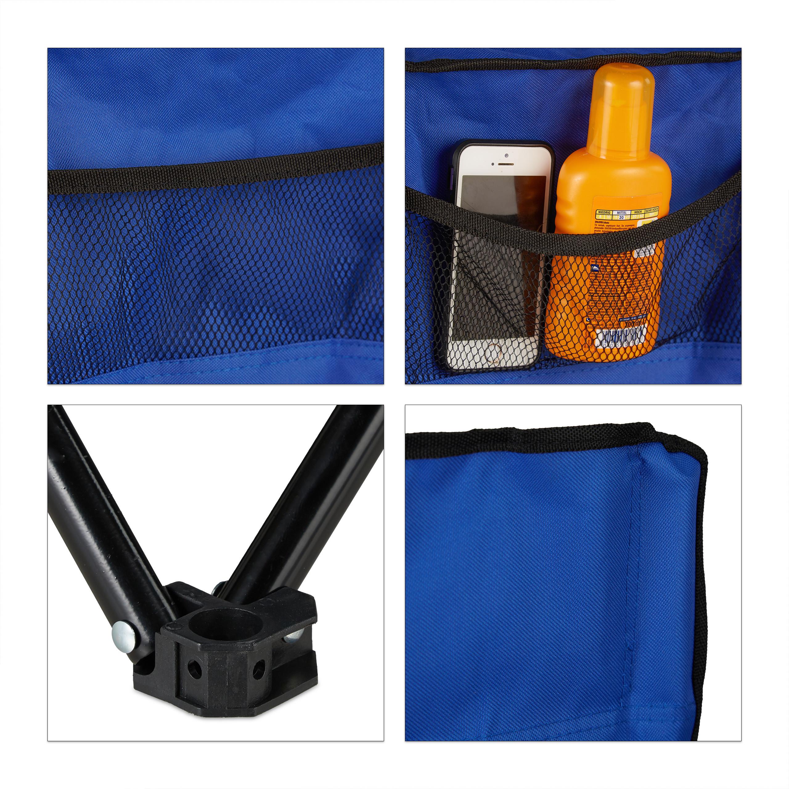 Doble silla de camping doble silla de playa 2er silla de camping plegable sombrilla