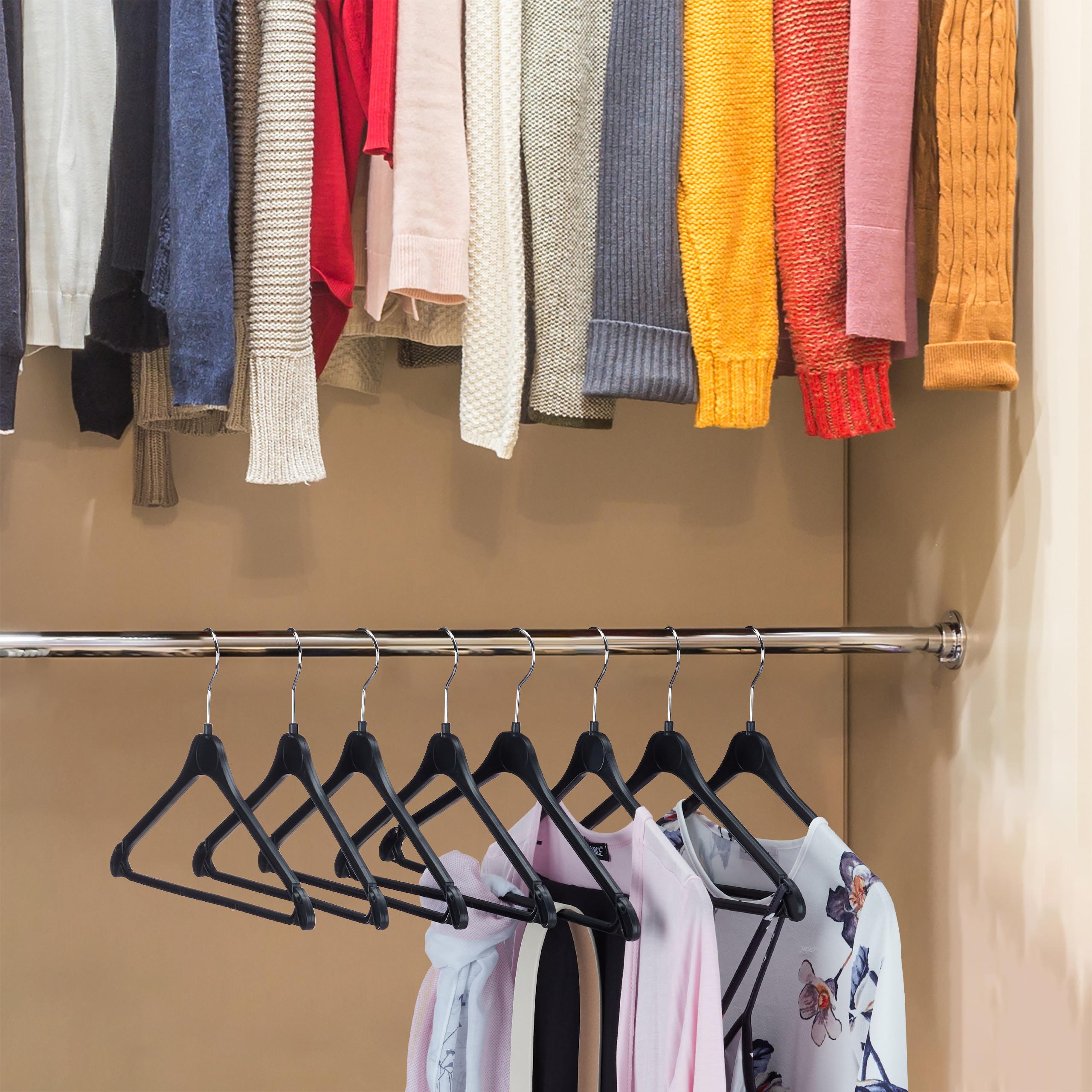 Kleiderbügel Rockbügel Hemdbügel Kunststoffbügel Set Hosenbügel Hosenstange