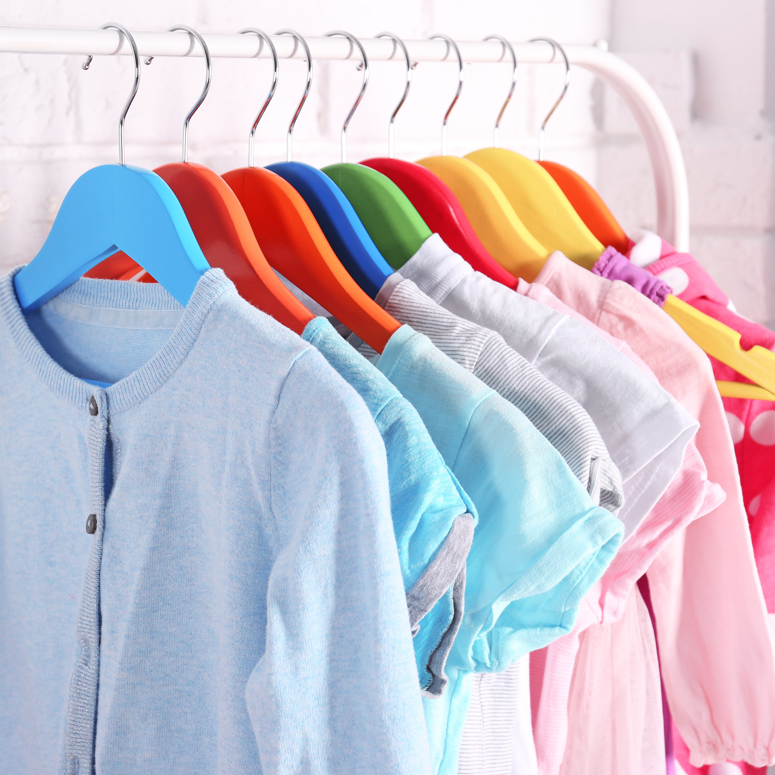 Kleiderbügel Kinder 20er Set Babybügel Holzbügel Hemdbügel Kinderkleiderbügel