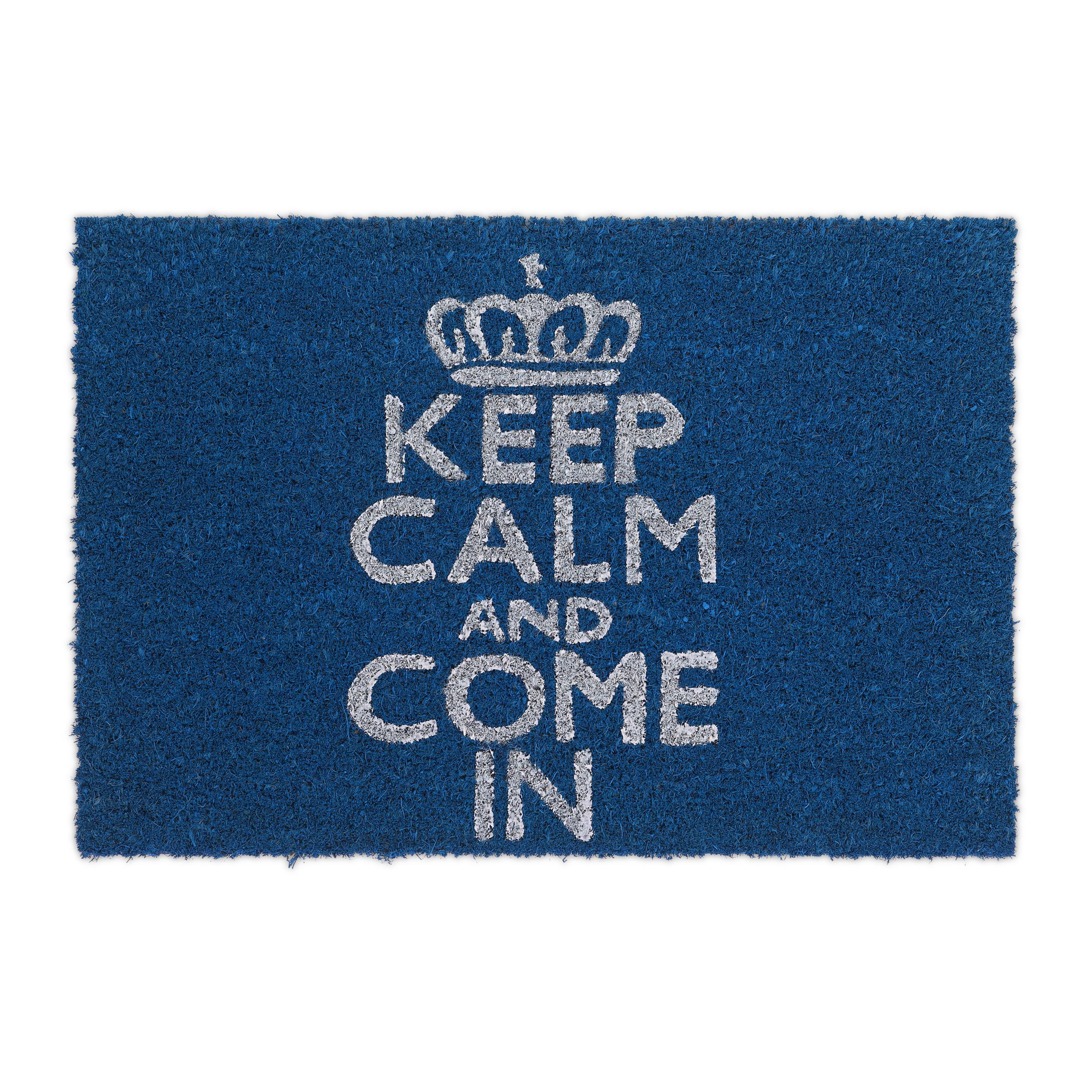 Felpudo-Fibras-de-coco-KEEP-CALM-AND-COME-IN-alfombra-para-la-entrada-hogar-deco