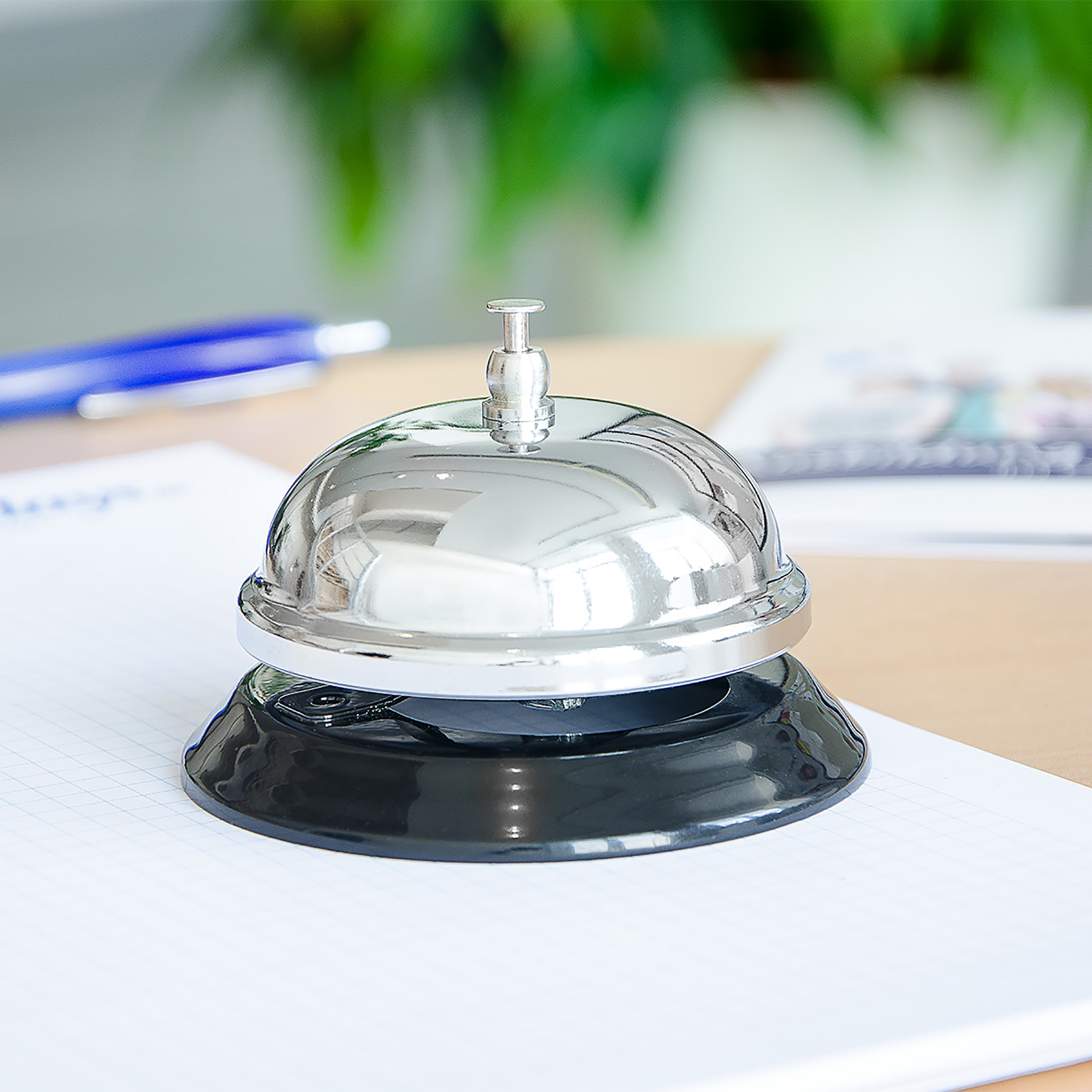 Tischklingel rezeptionsklingel serviceklingel hotelklingel mesa campana campana 86
