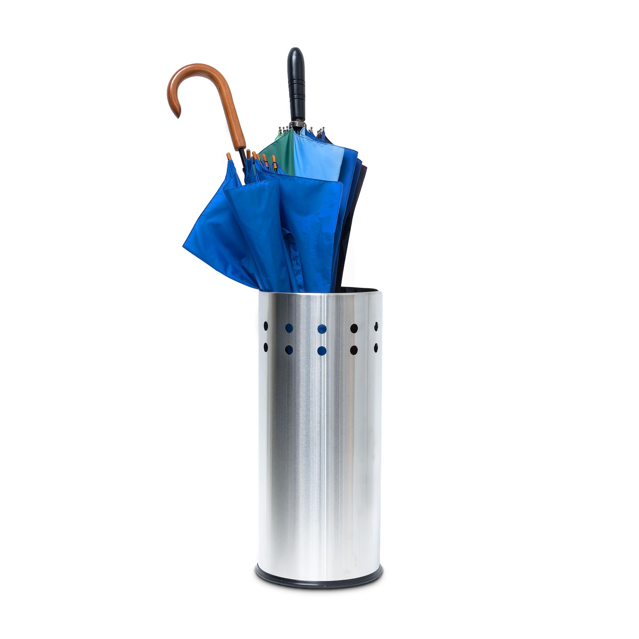 Schirmständer Edelstahl Schirmhalter Regenschirmhalter Regenschirmständer 50 cm