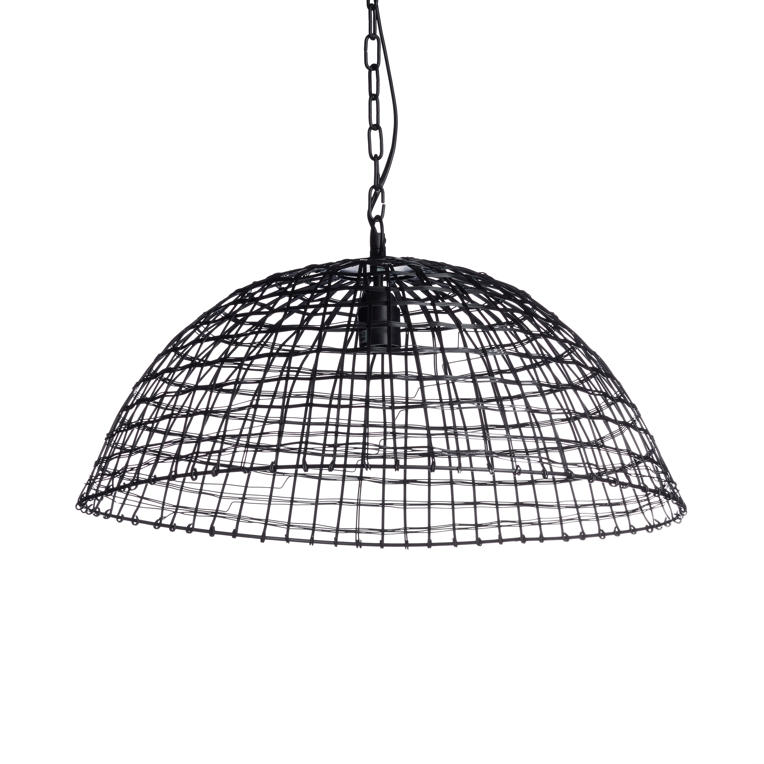 Lampara-colgante-techo-diseno-industrial-iluminacion-hogar-hierro-forjado-negro