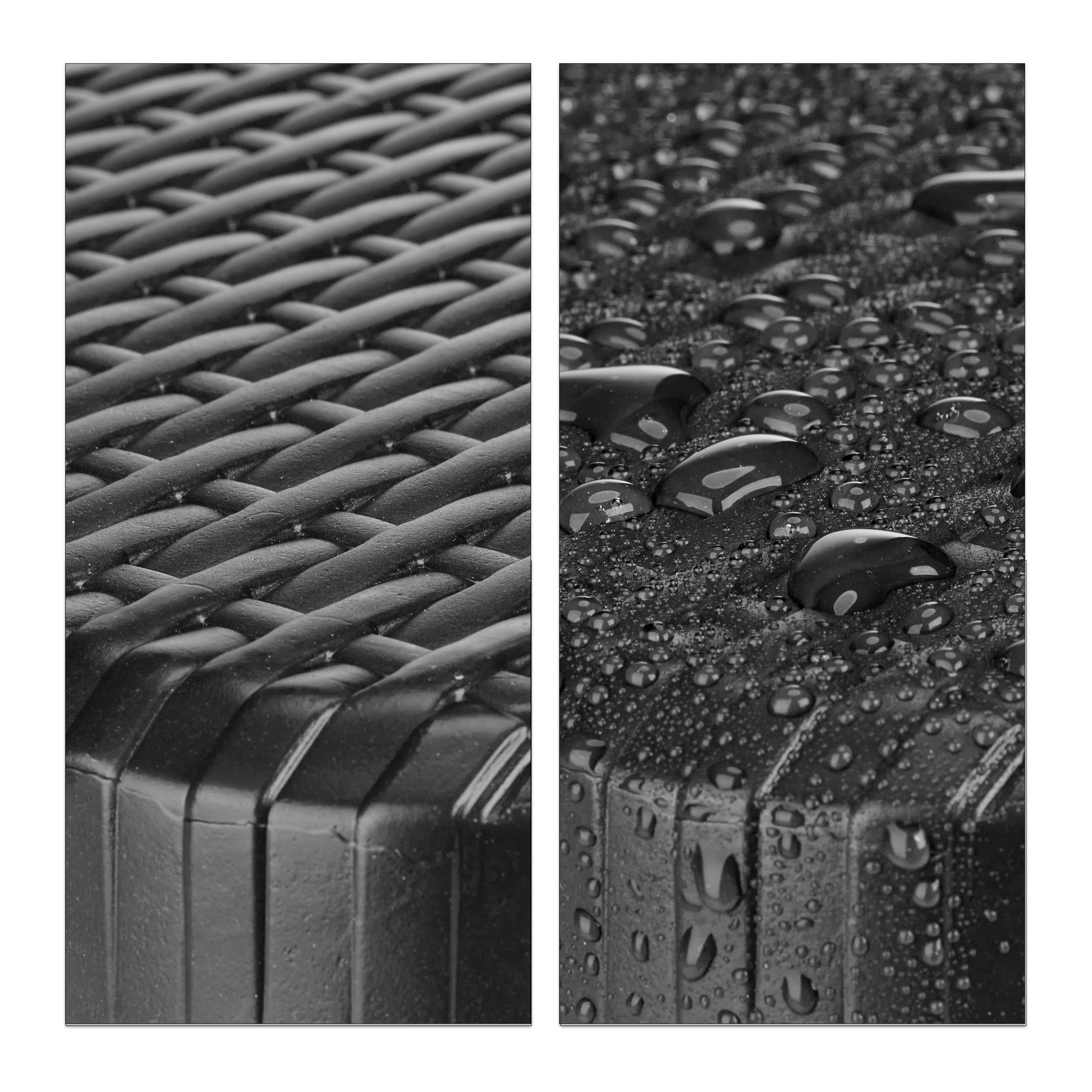 Bierzeltgarnitur-klappbar-BASTIAN-in-Rattan-Optik-Gartenmoebel-Set-Biertisch Indexbild 14