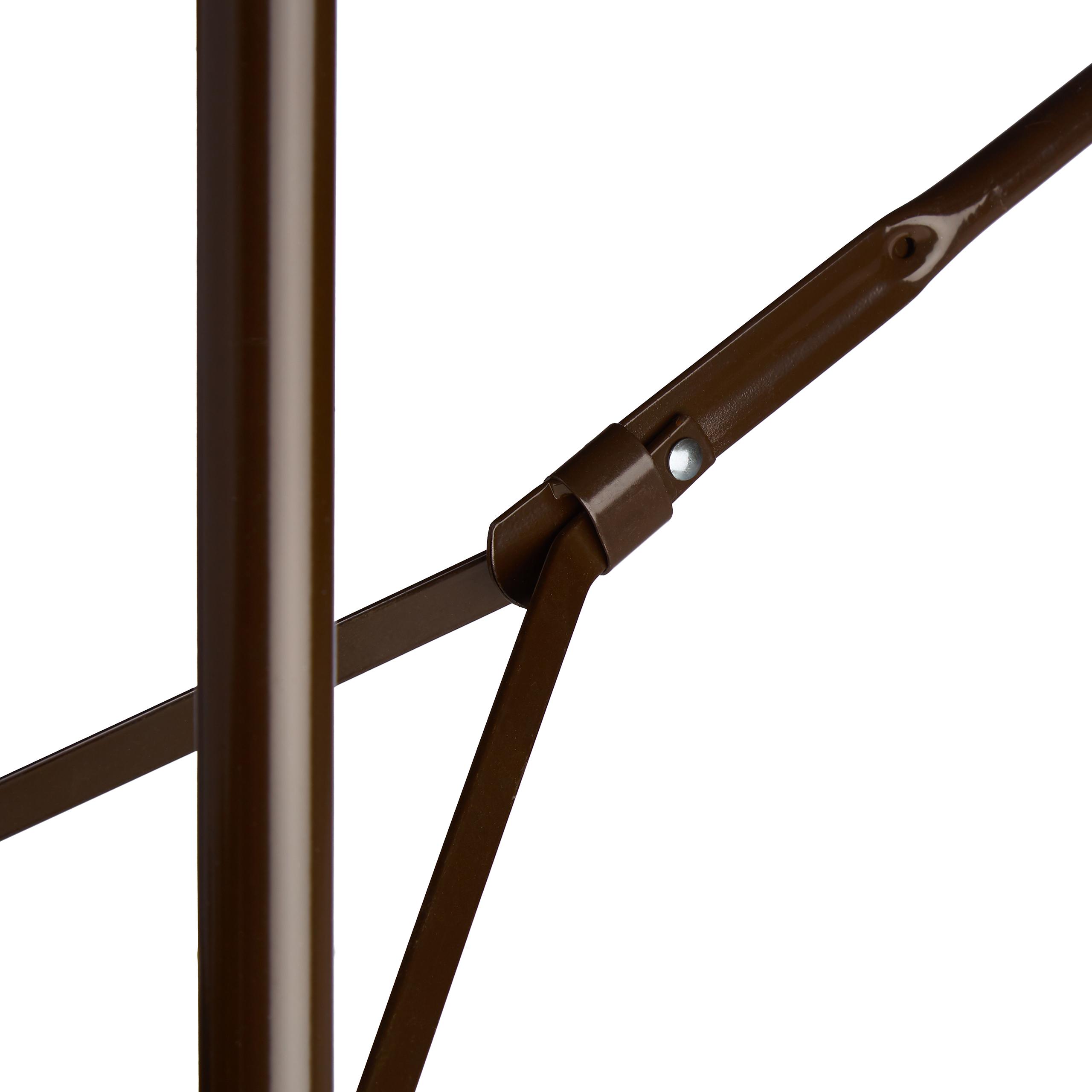 Bierzeltgarnitur-klappbar-BASTIAN-in-Rattan-Optik-Gartenmoebel-Set-Biertisch Indexbild 8