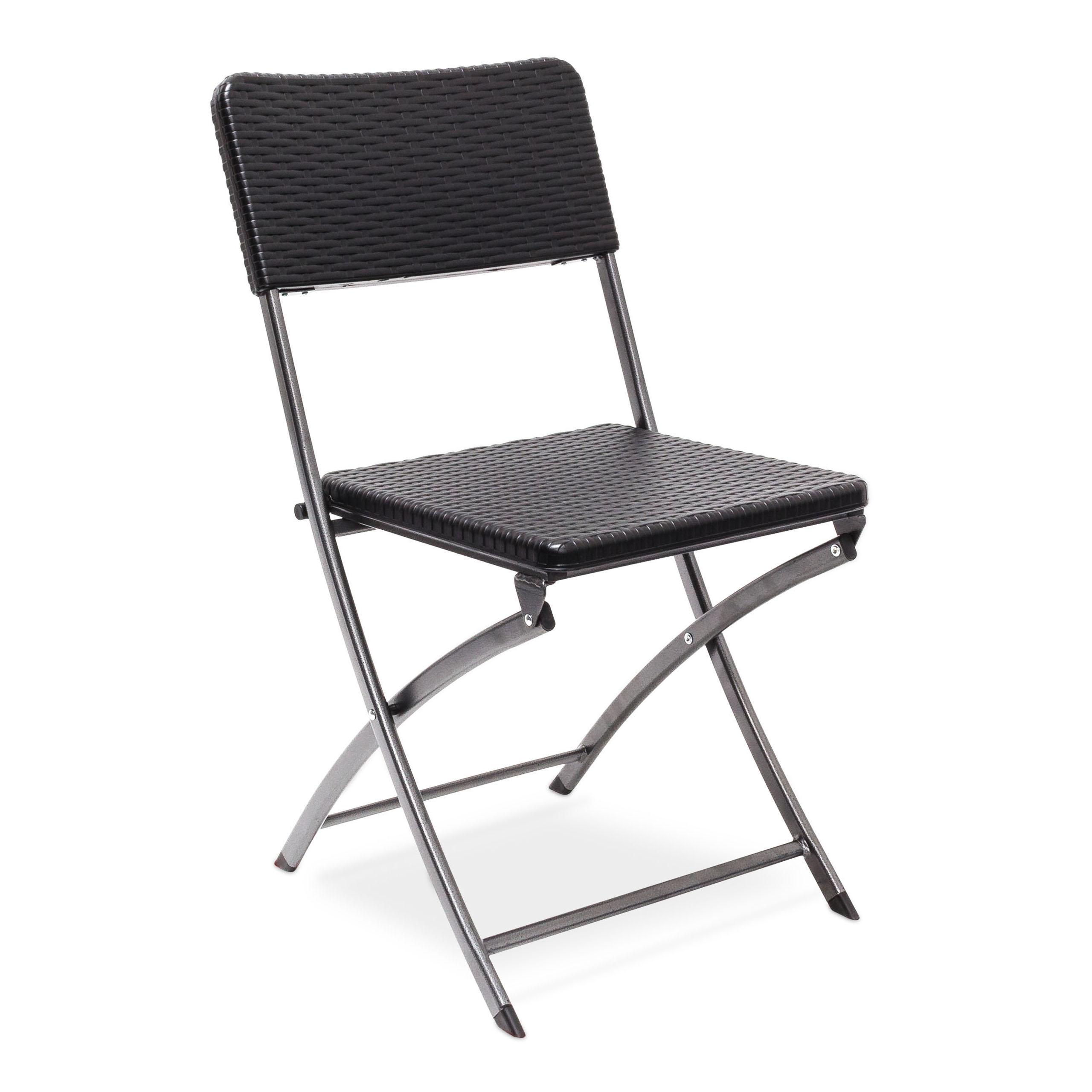 Chaise-de-jardin-pliable-pliante-Chaise-de-camping-BASTIAN-en-aspect-rotin