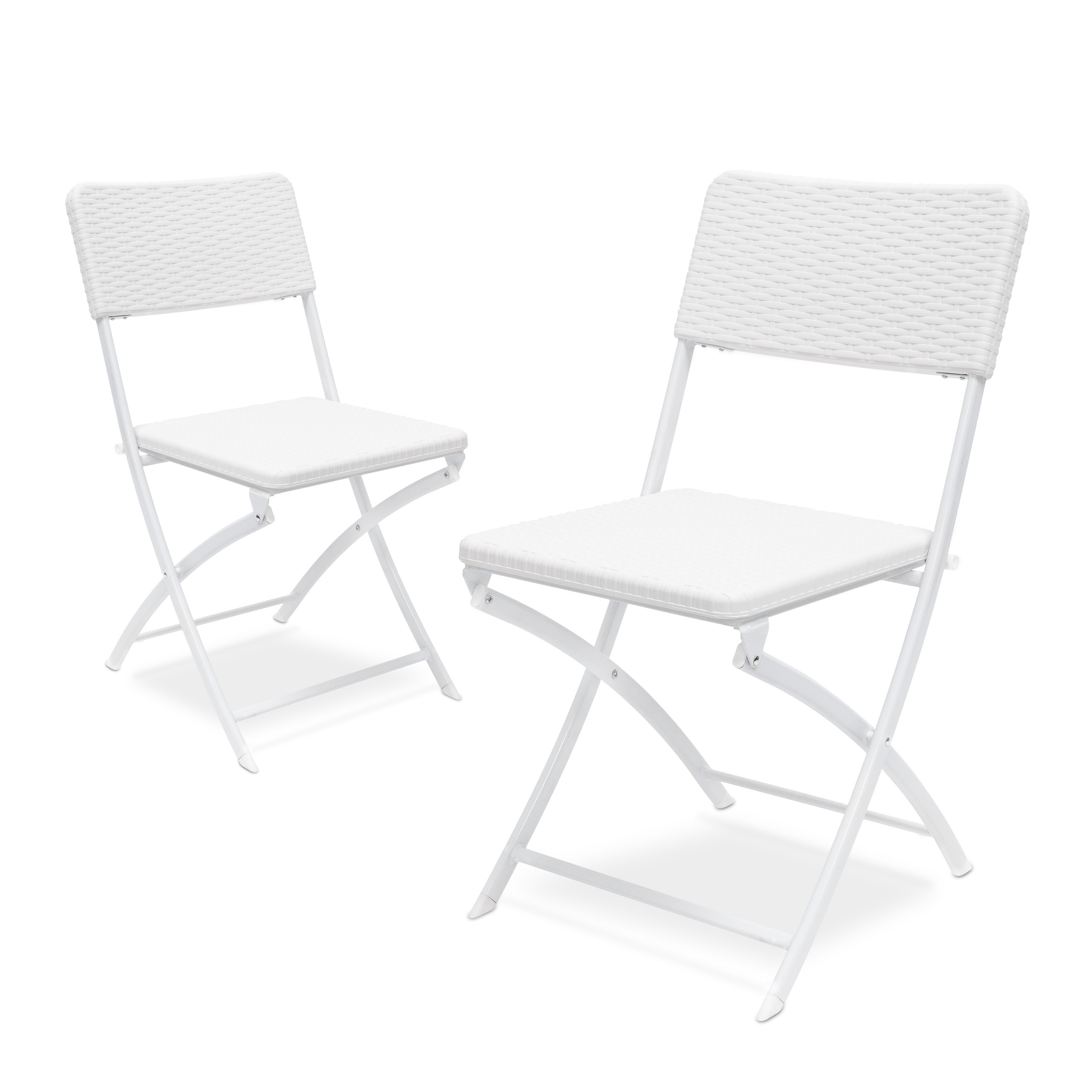 Klappstuhl-BASTIAN-Gartenstuhl-klappbar-Campingstuhl-Sitzgarnitur-Set-Rattan