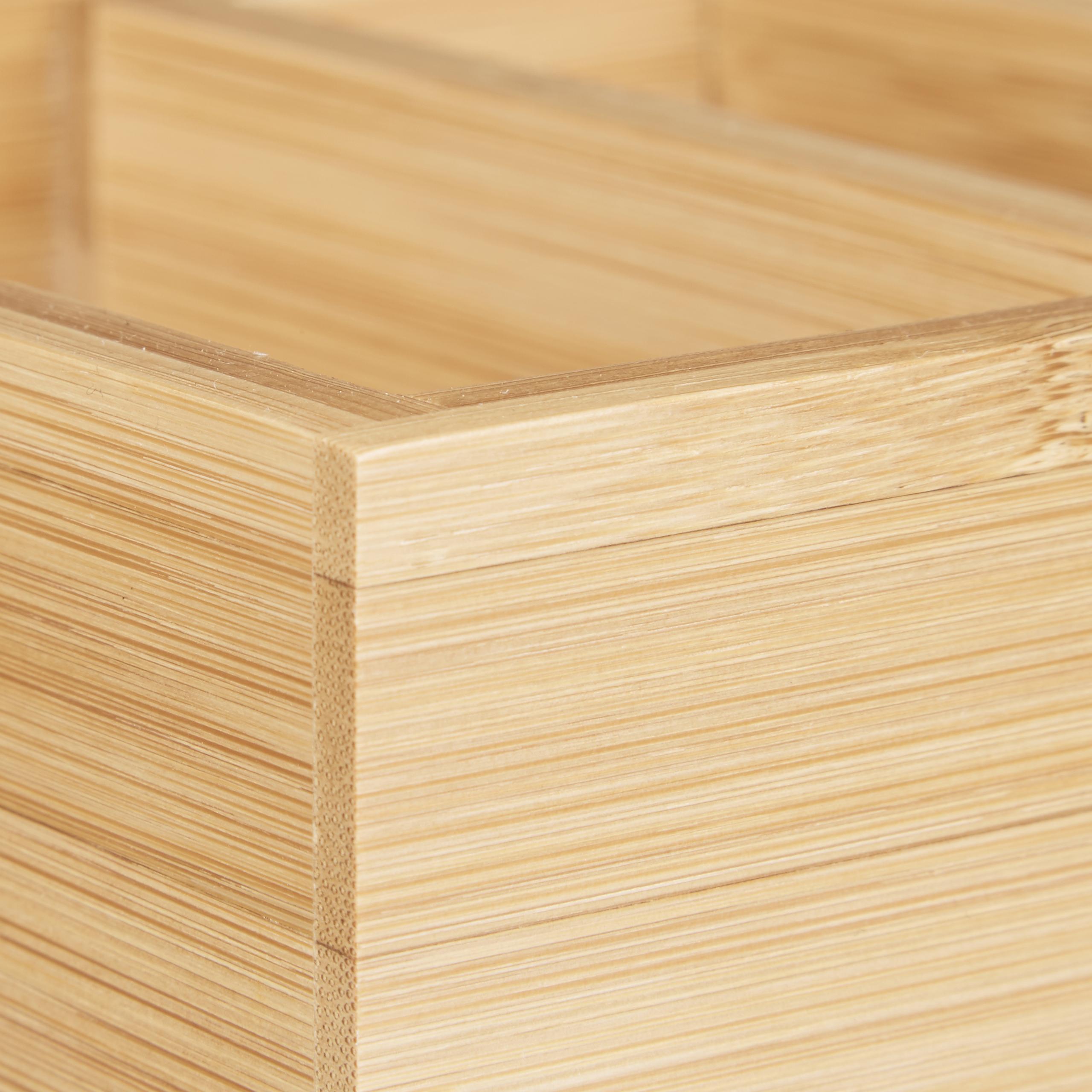 Karteikasten-DIN-A8-Holz-natuerlich-Karteikartensystem-Lernbox-Visitenkartenbox Indexbild 5
