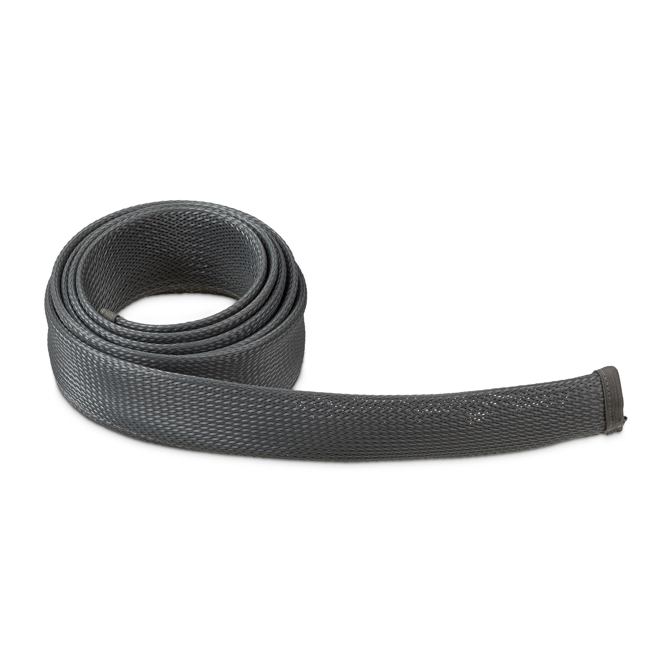Cable-flexible-1-2-m-Gestion-Des-Cables-Ordinateur-Fermeture-eclair-Bus