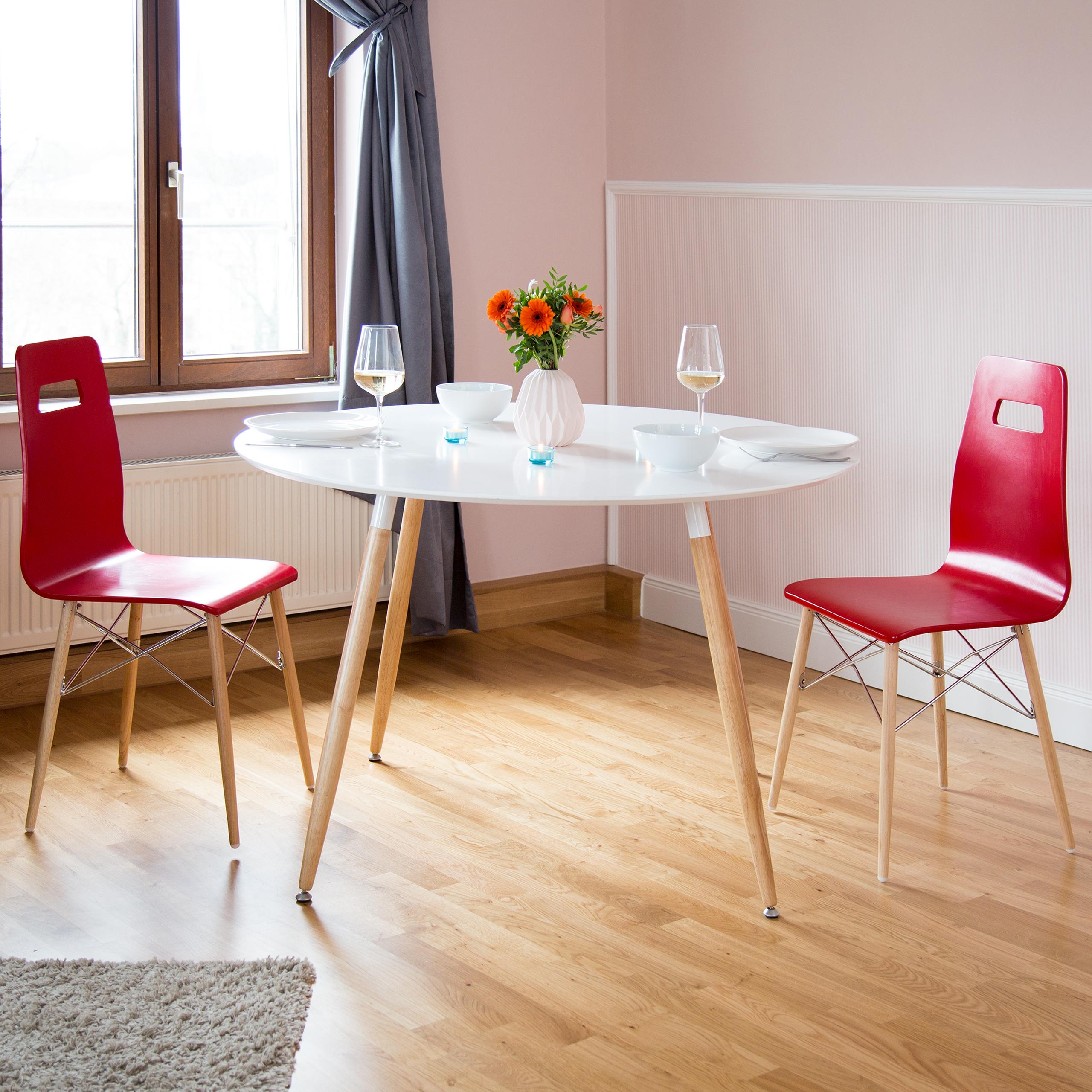 Runder Esstisch Tisch Holztisch Esszimmertisch nordisch