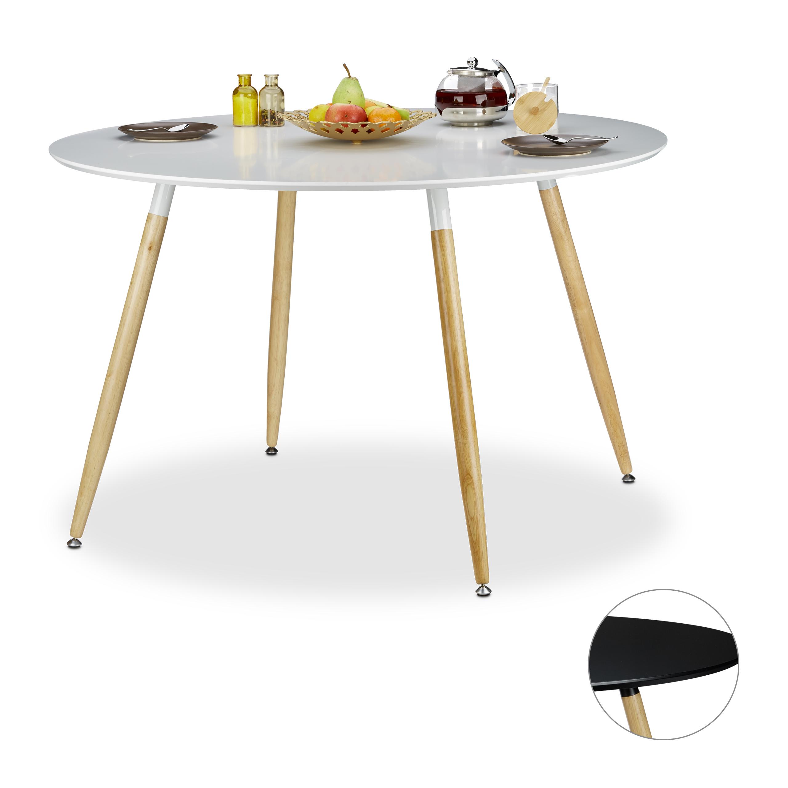 Esstisch-rund-Holz-6-8-Personen-Esszimmertisch-nordisch-Design-Kuechentisch