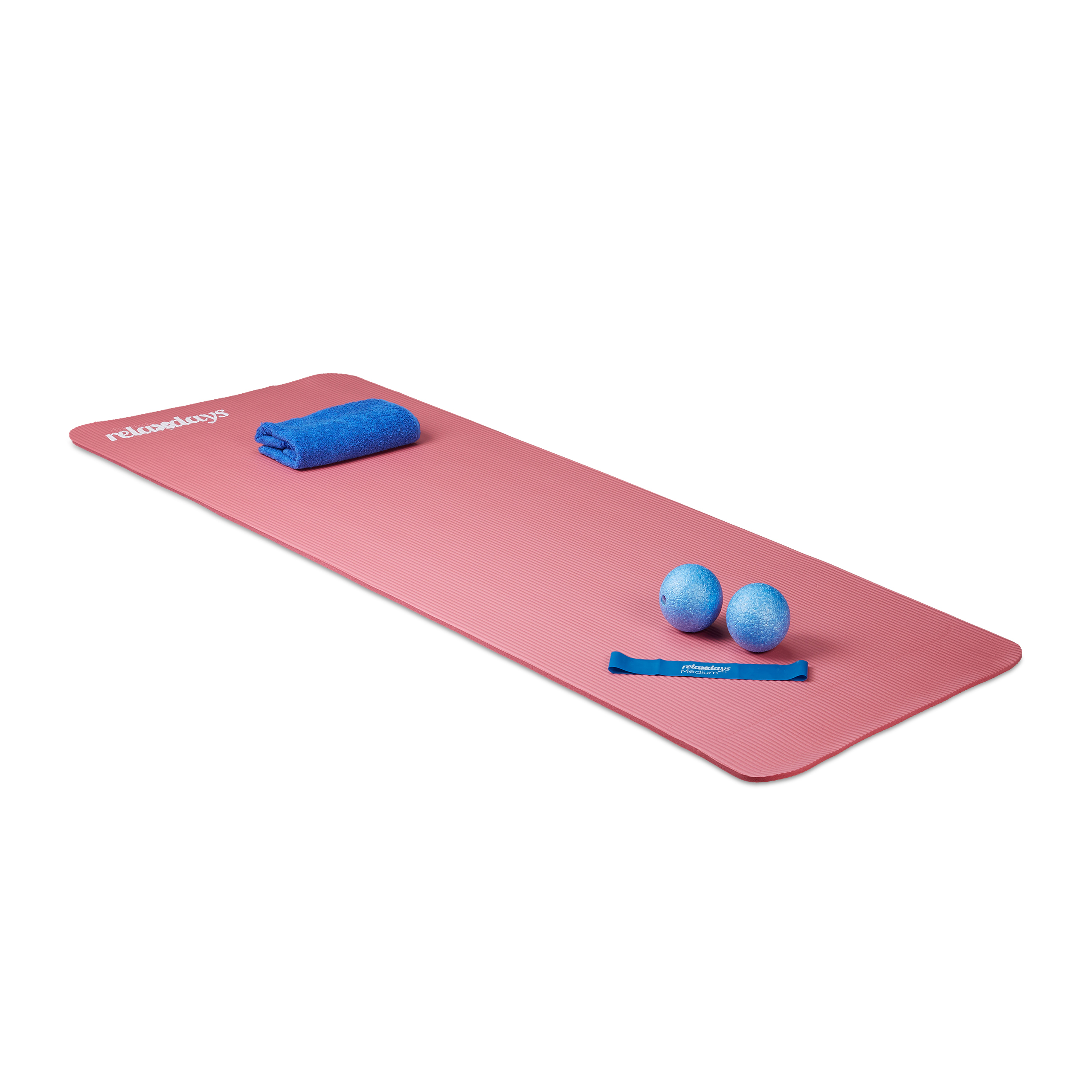 Yoga-Mat-1-cm-Thick-Soft-Rubber-Various-Colours-with-Holding-Straps
