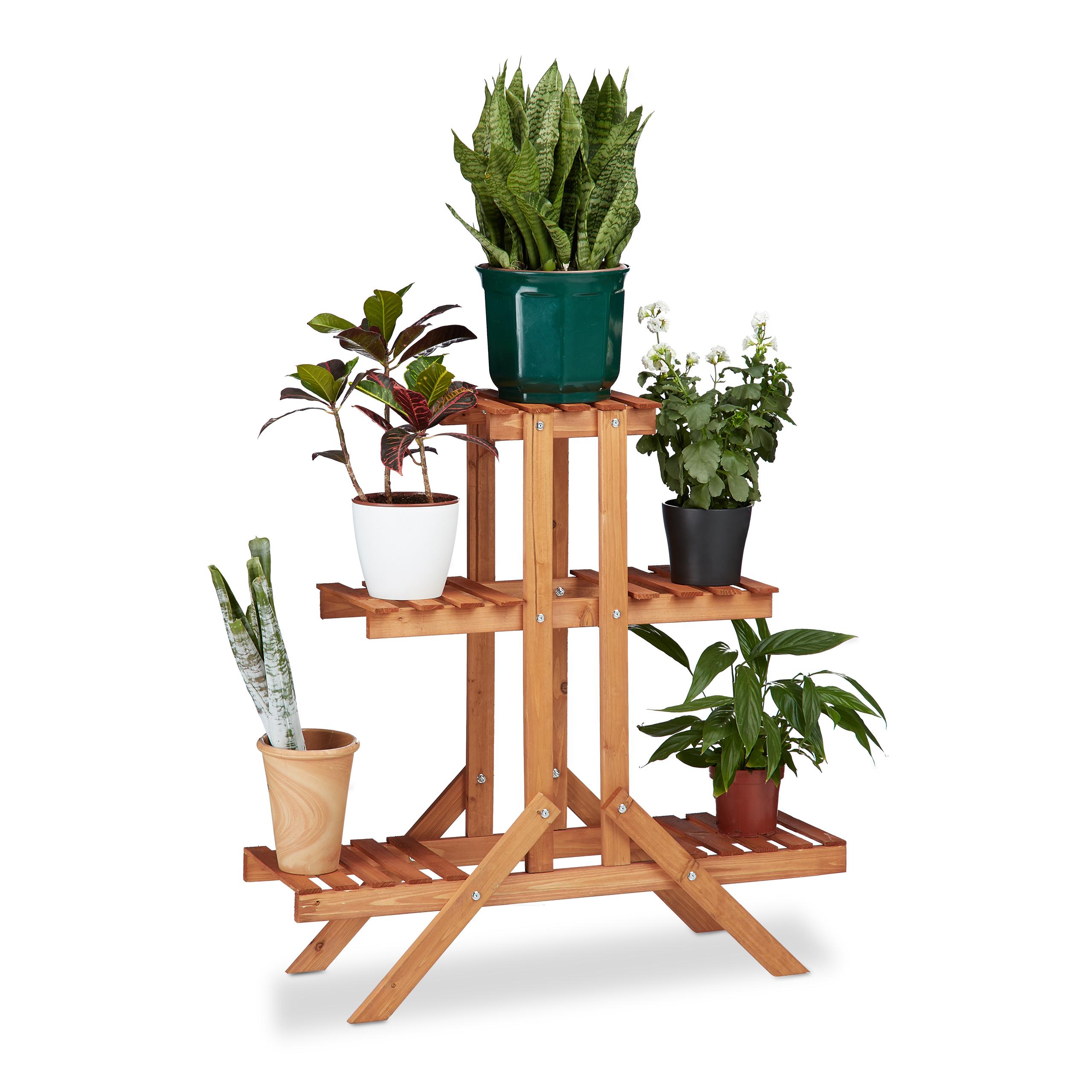 fioriera a scala 3 ripiani scaffale stand scaletta porta