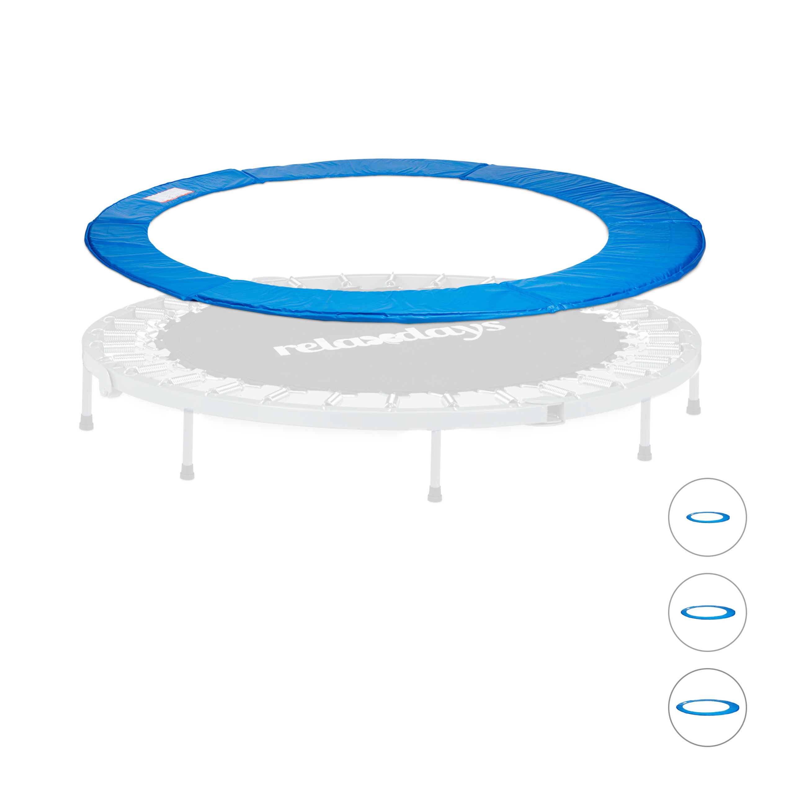 Copri-molla per trampolino tappeto elastico accessori ricambi 244 305 366 427 cm