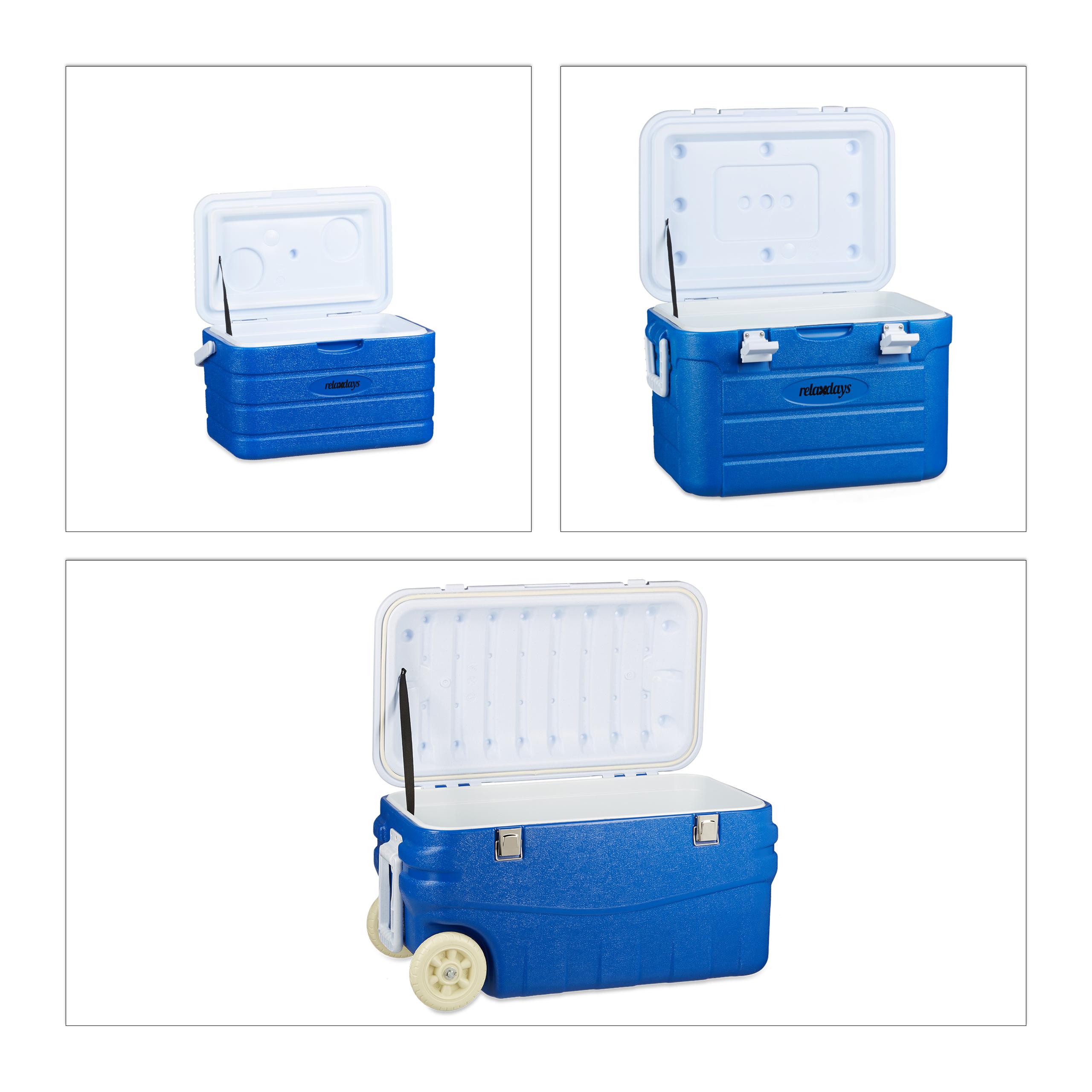 Wärme-//Kühlbox-Set Orange 5L Kühlbehälter für Lebensmittel ohne Strom 13L 26L