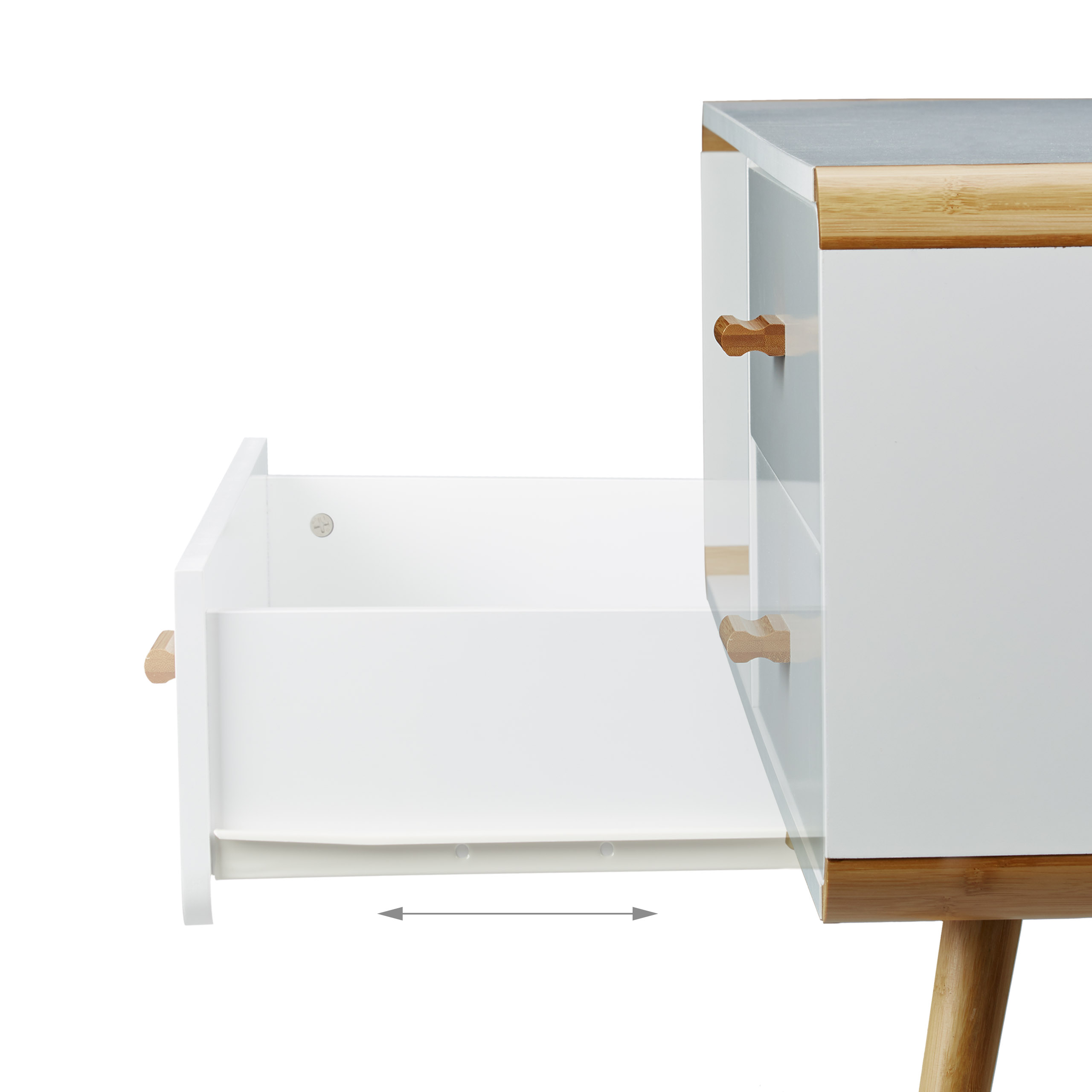 sideboard rounded lowboard in white low tv bench chest drawers m ebay