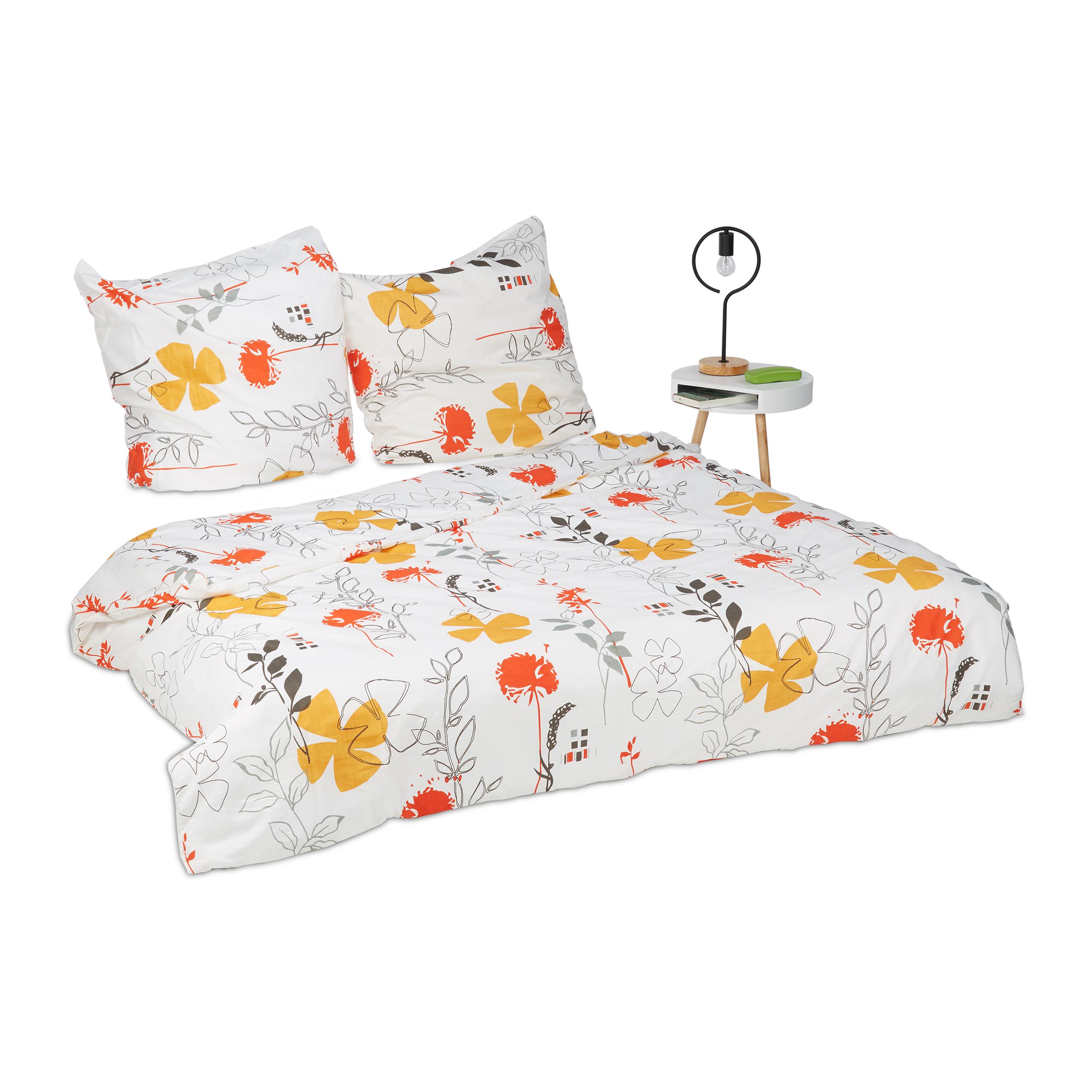 Bedlinen-Floral-Design-Bedding-Set-Flower-Pillowcase-and-Duvet-Cover
