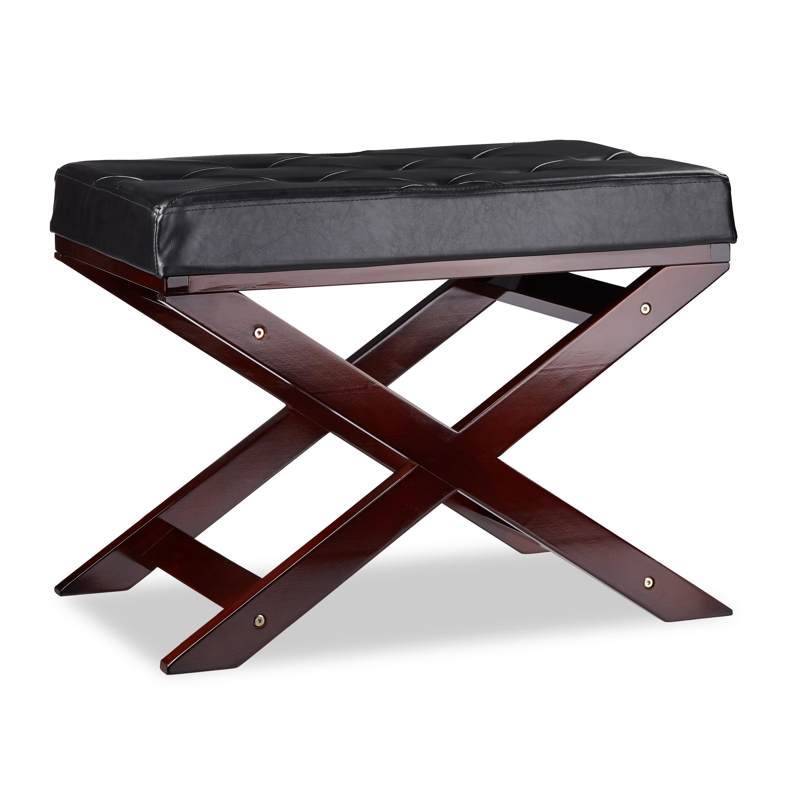 Details zu Gepolsterte Sitzbank ohne Lehne, Küche, Esszimmer, Schlafzimmer,  Flur, aus Holz