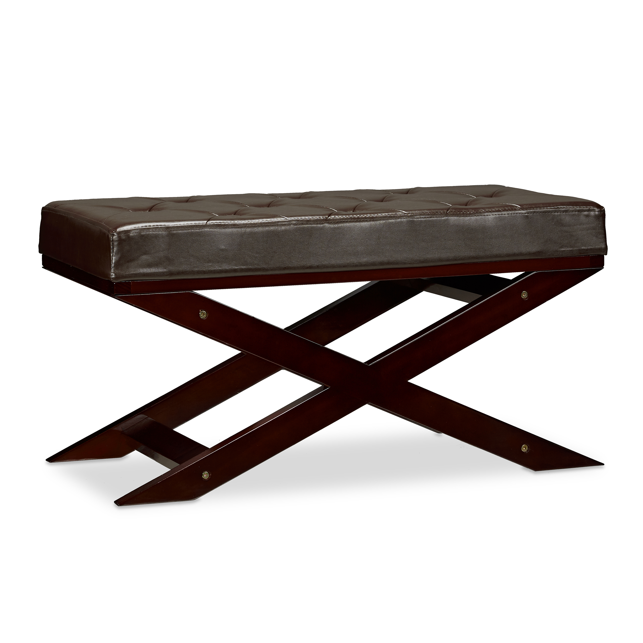 Sitzbank mit Polster ohne Lehne Holz Esszimmer, Küche, Flur ...