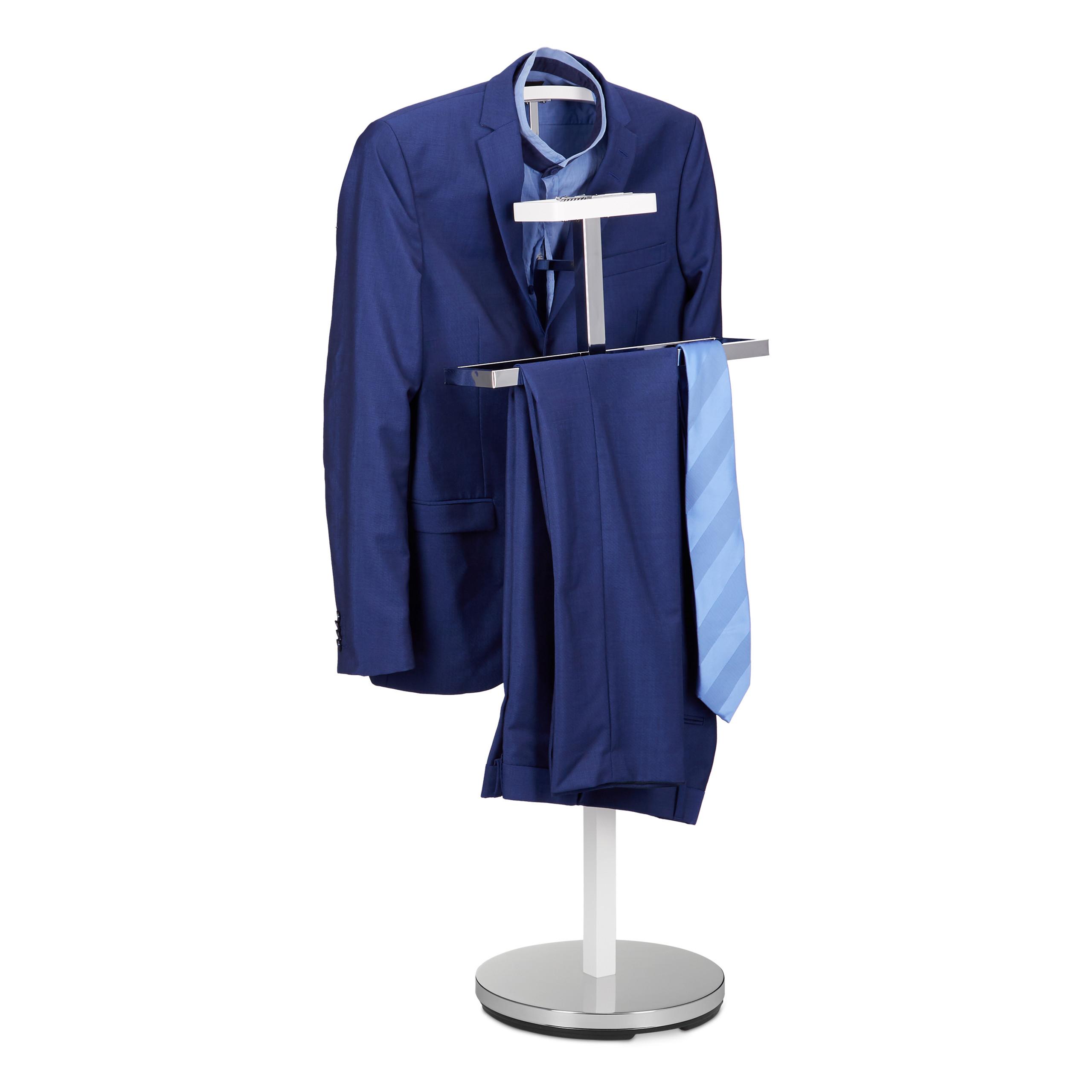 Détails sur Valet de chambre portant à vêtements serviteur de chambre  design blanc