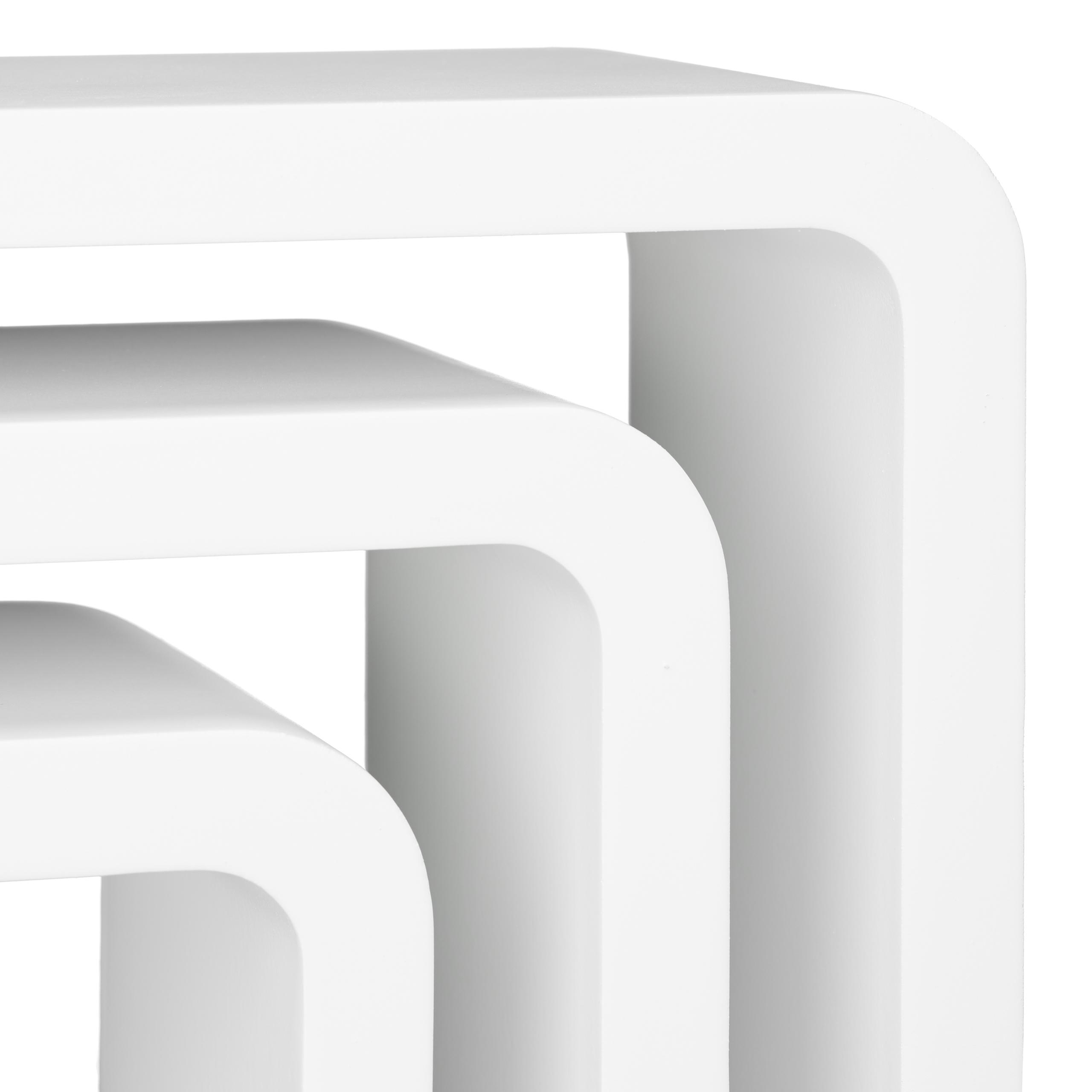 Schweberegal-Set-3-Wandregale-Haengeregal-Wandboards-Dekoregal-Wandablagen Indexbild 17