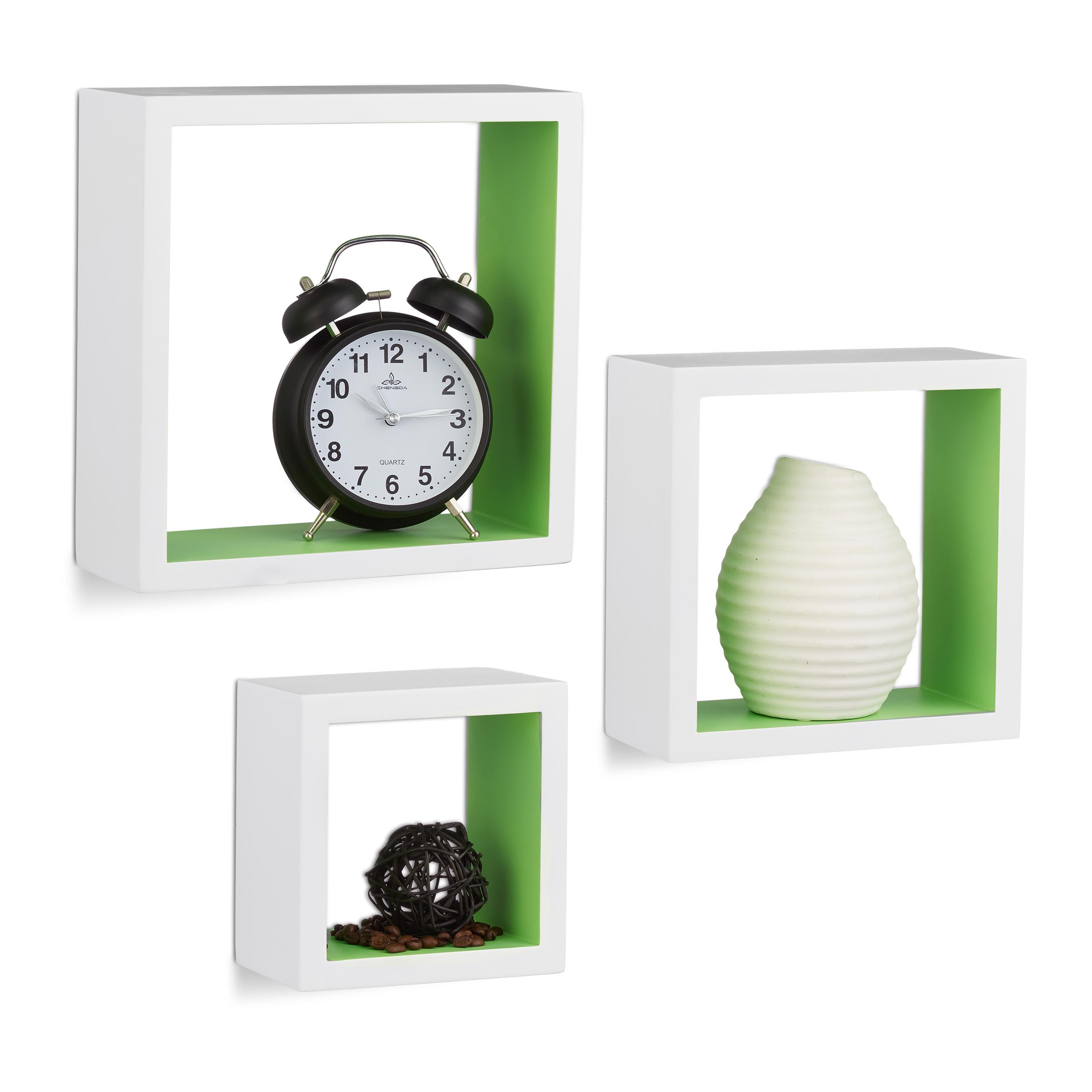 Square-Wall-Shelves-Set-of-3-Cube-Shelf-MDF-Bookcase-Wooden-Floating-Shelf