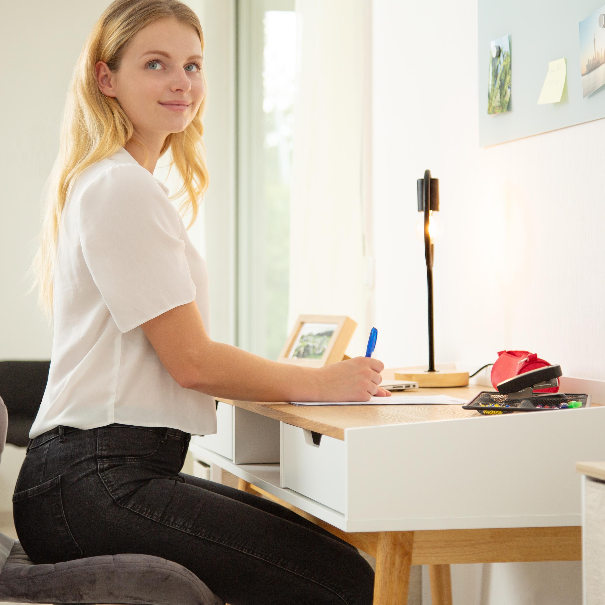 Schreibtisch Computertisch B Rotisch Arbeitstisch Sekret R