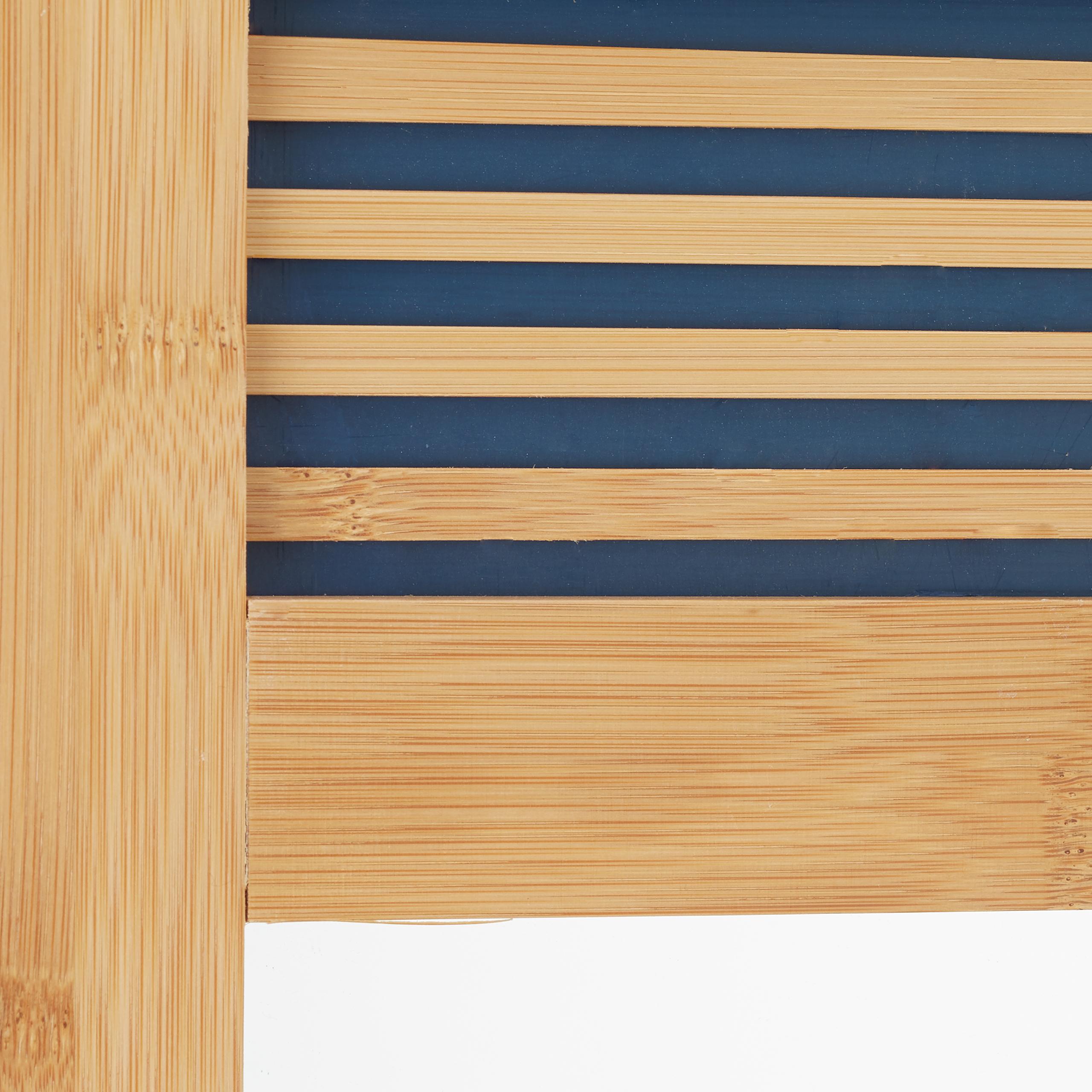 Badezimmerspiegel Holz Mit Ablage: Badspiegel Mit Ablage, Bambus Badezimmerspiegel