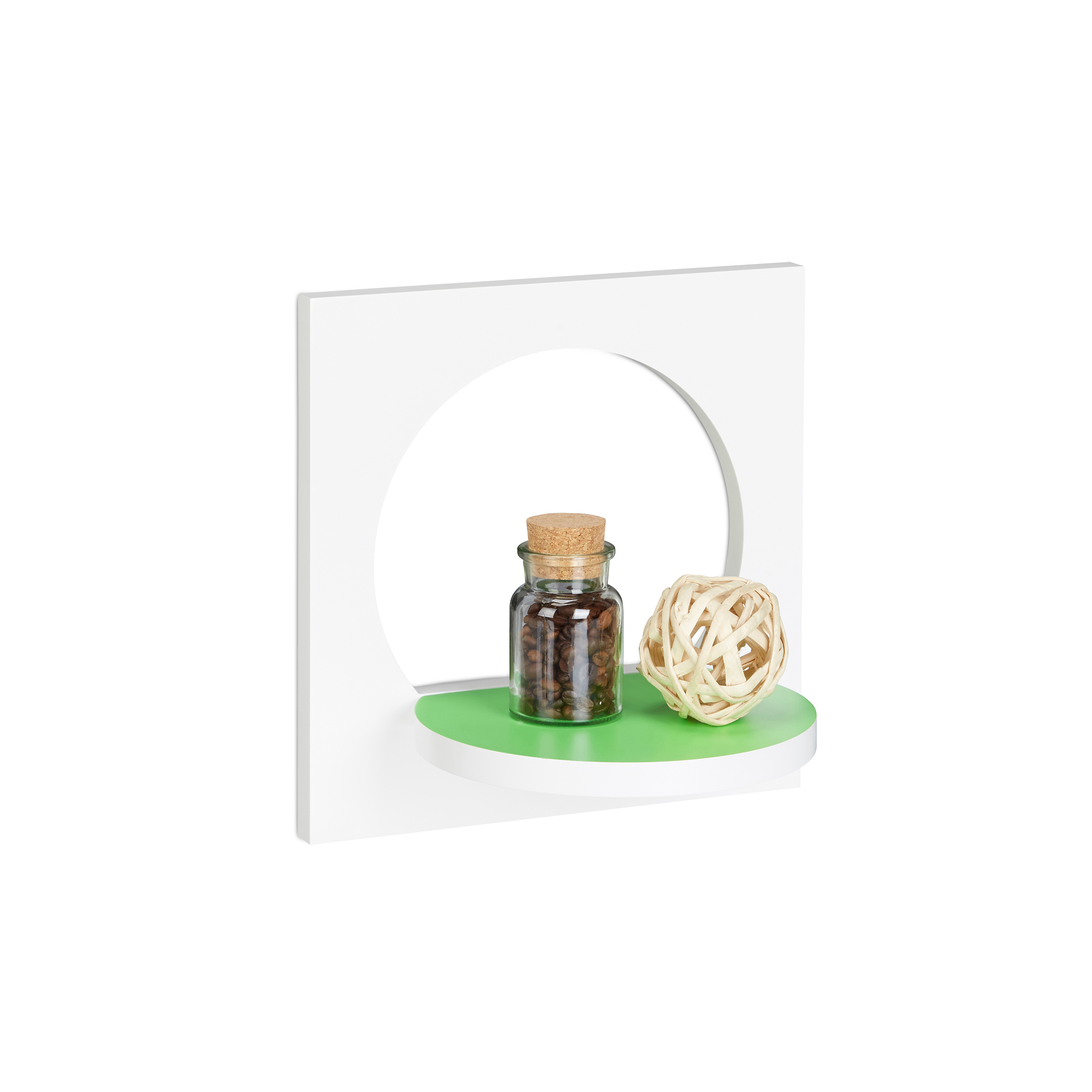 Floating-Flower-Shelf-Original-Wall-Rack-Round-Plant-Stand-Durable